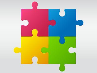 Puzzle Piece Templates