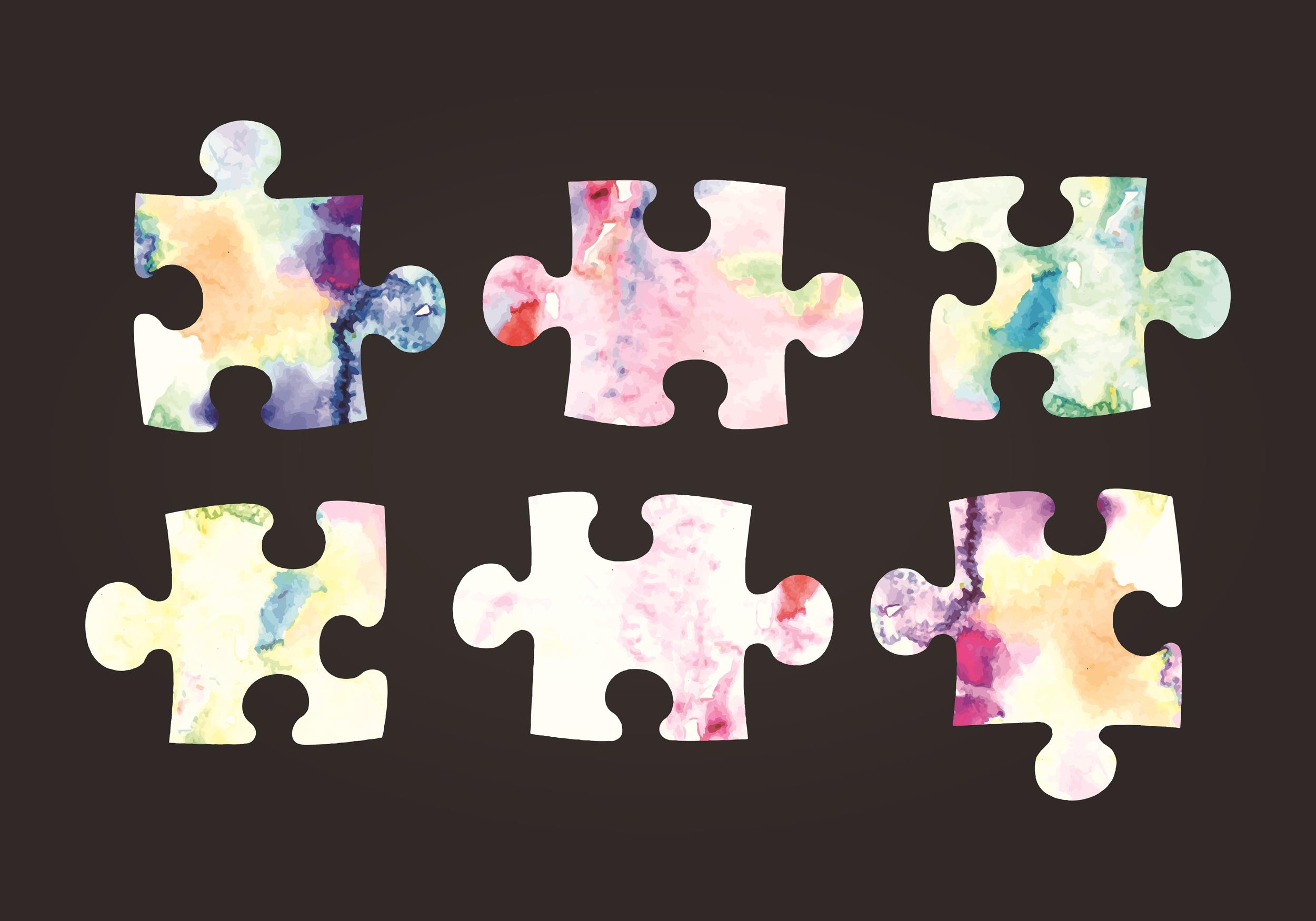 Free puzzle piece template 15