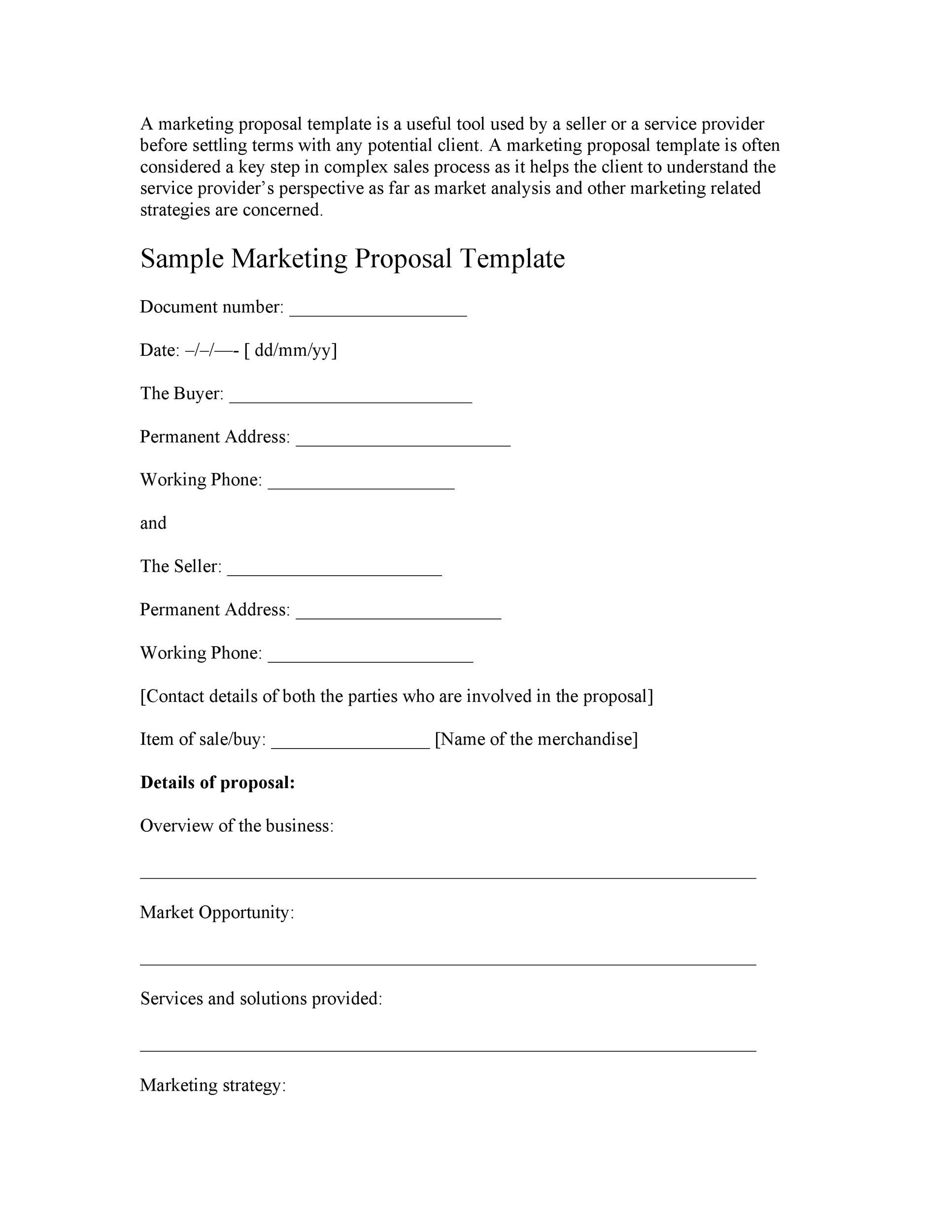 free research proposal template 05