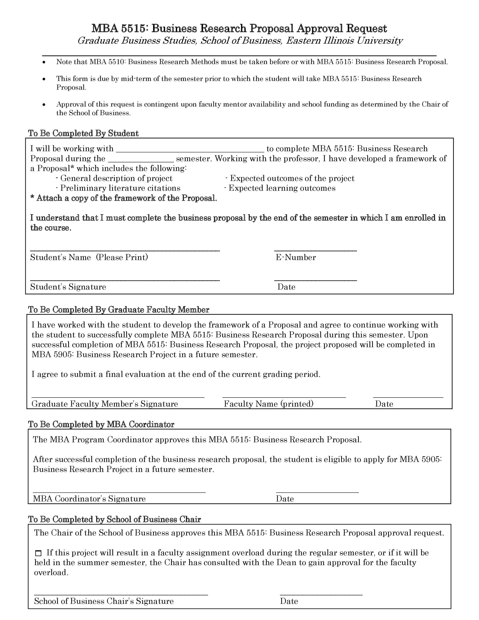 Free Research Proposal Template 12