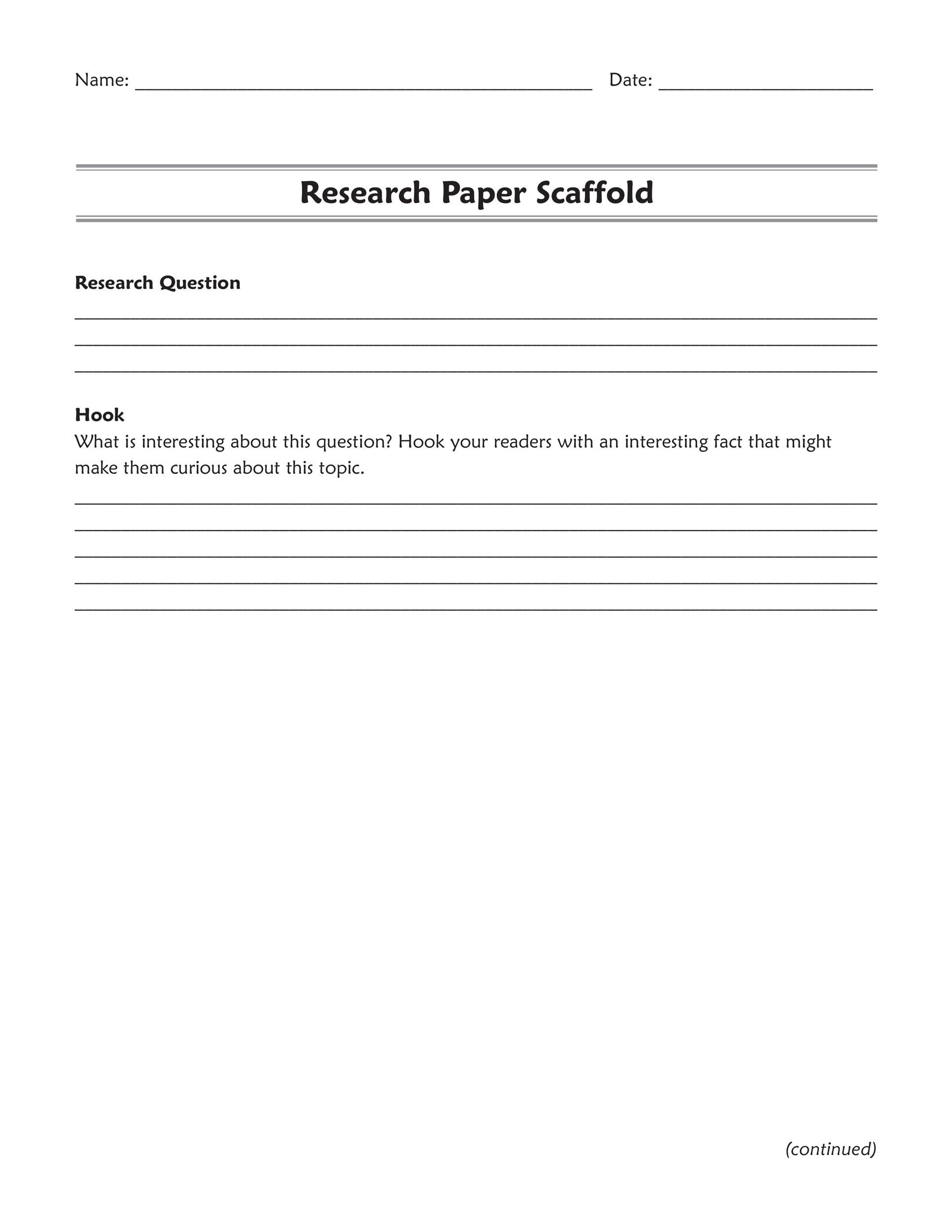 Free Research Proposal Template 31