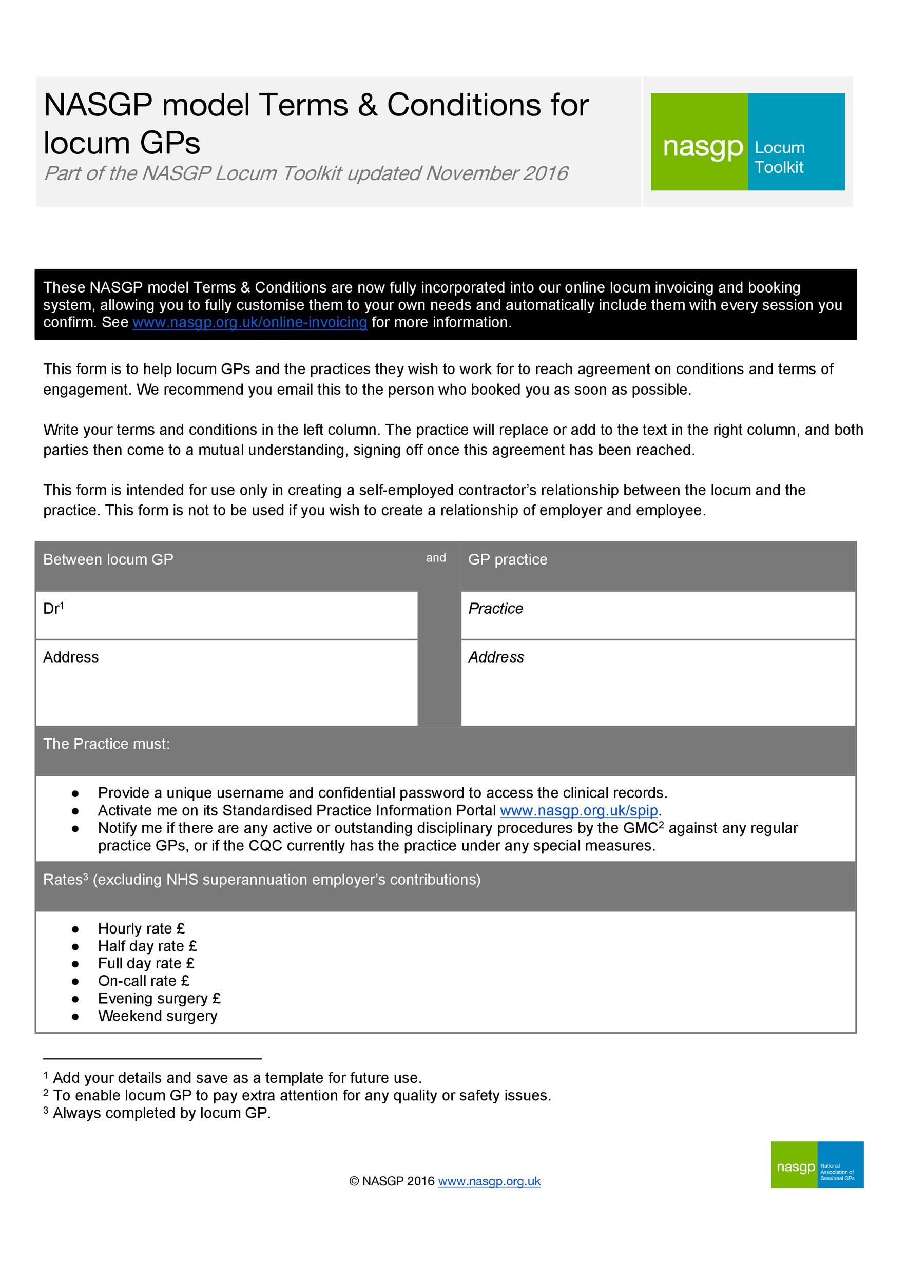Free terms and conditions template 08