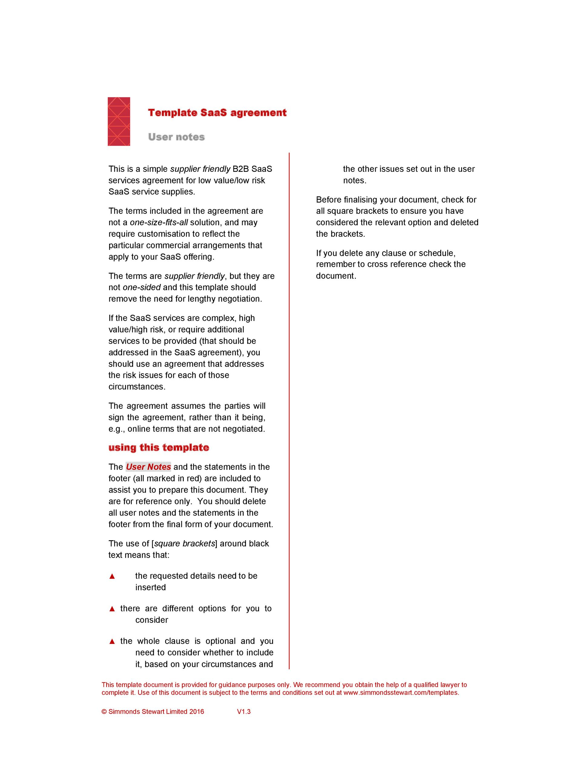 Free terms and conditions template 12