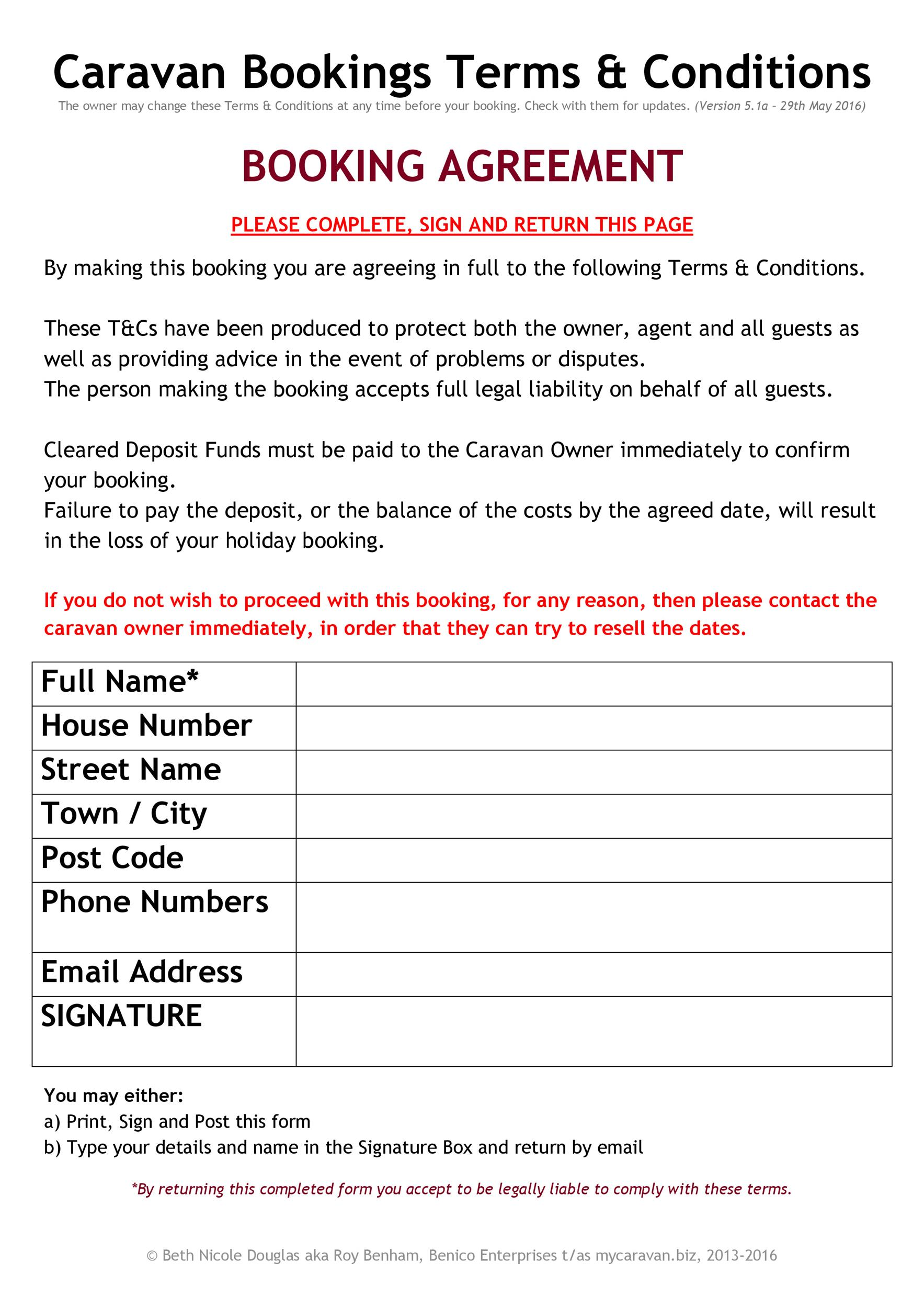 Free terms and conditions template 17