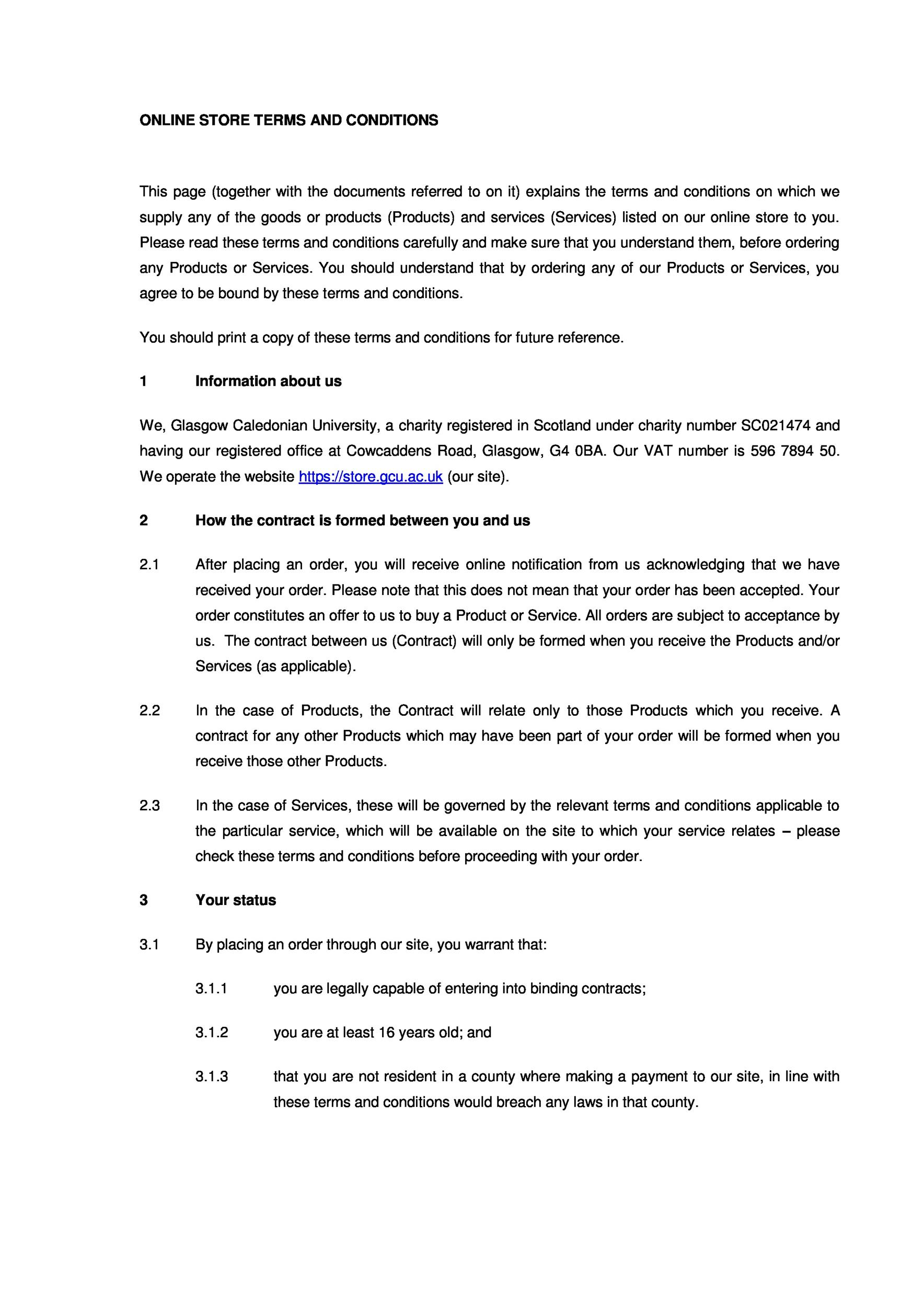 Terms and conditions template 27 template lab for Terms and conditions for online shop template