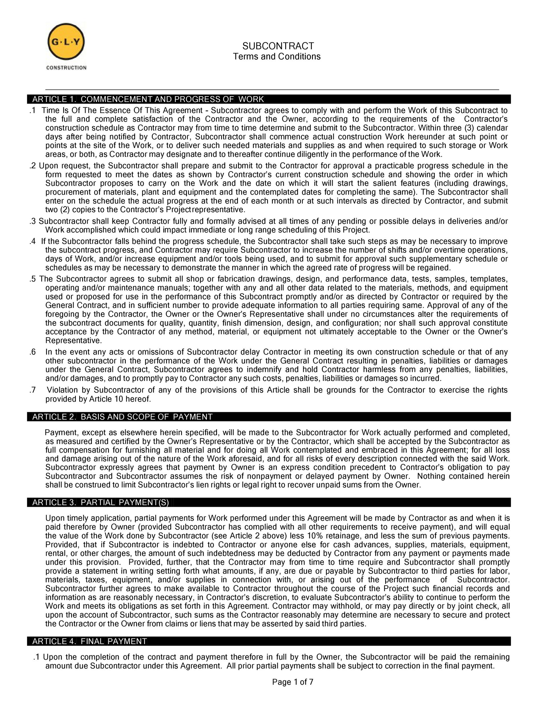 Free terms and conditions template 36