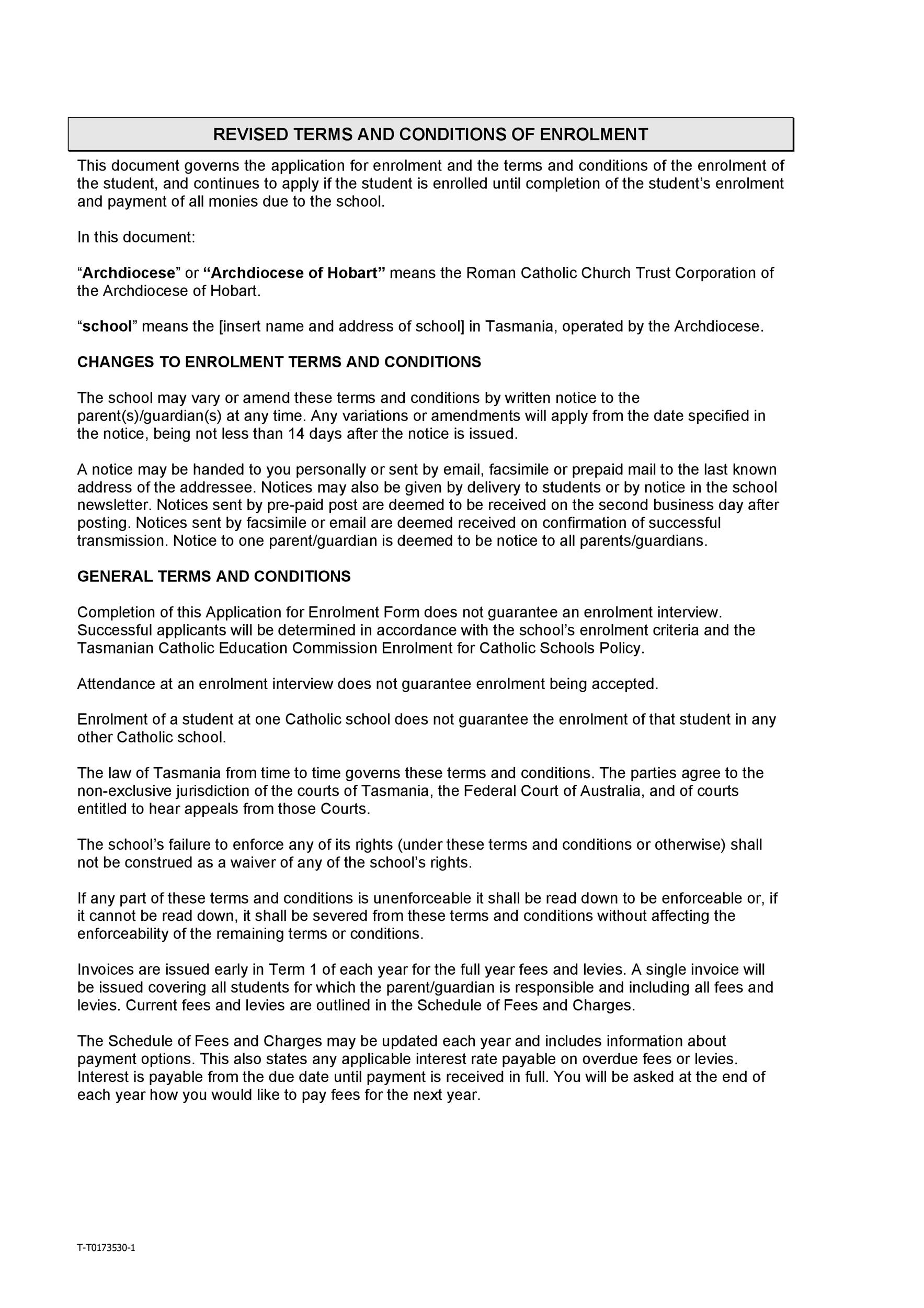 Free terms and conditions template 38