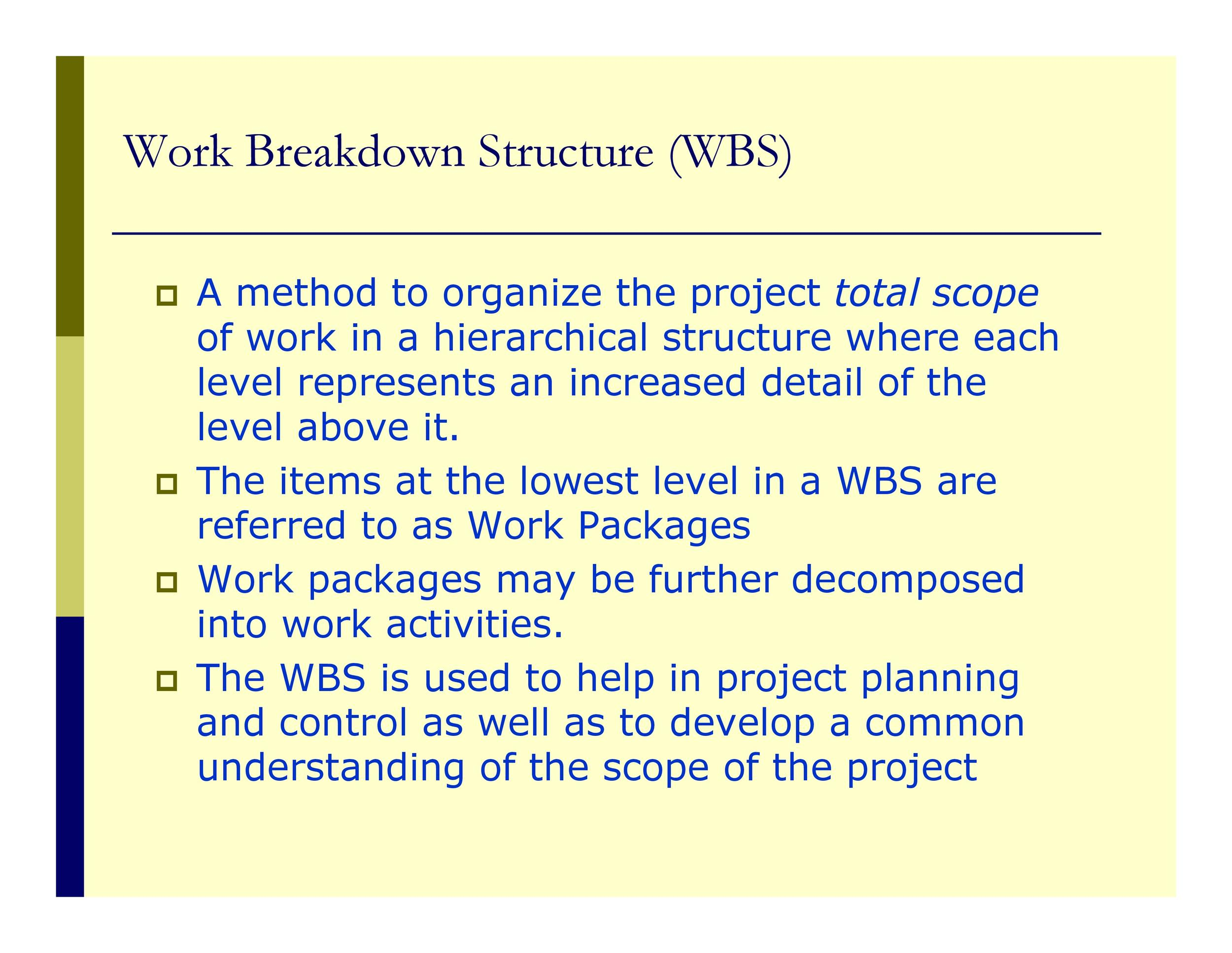 Free work breakdown structure template 39