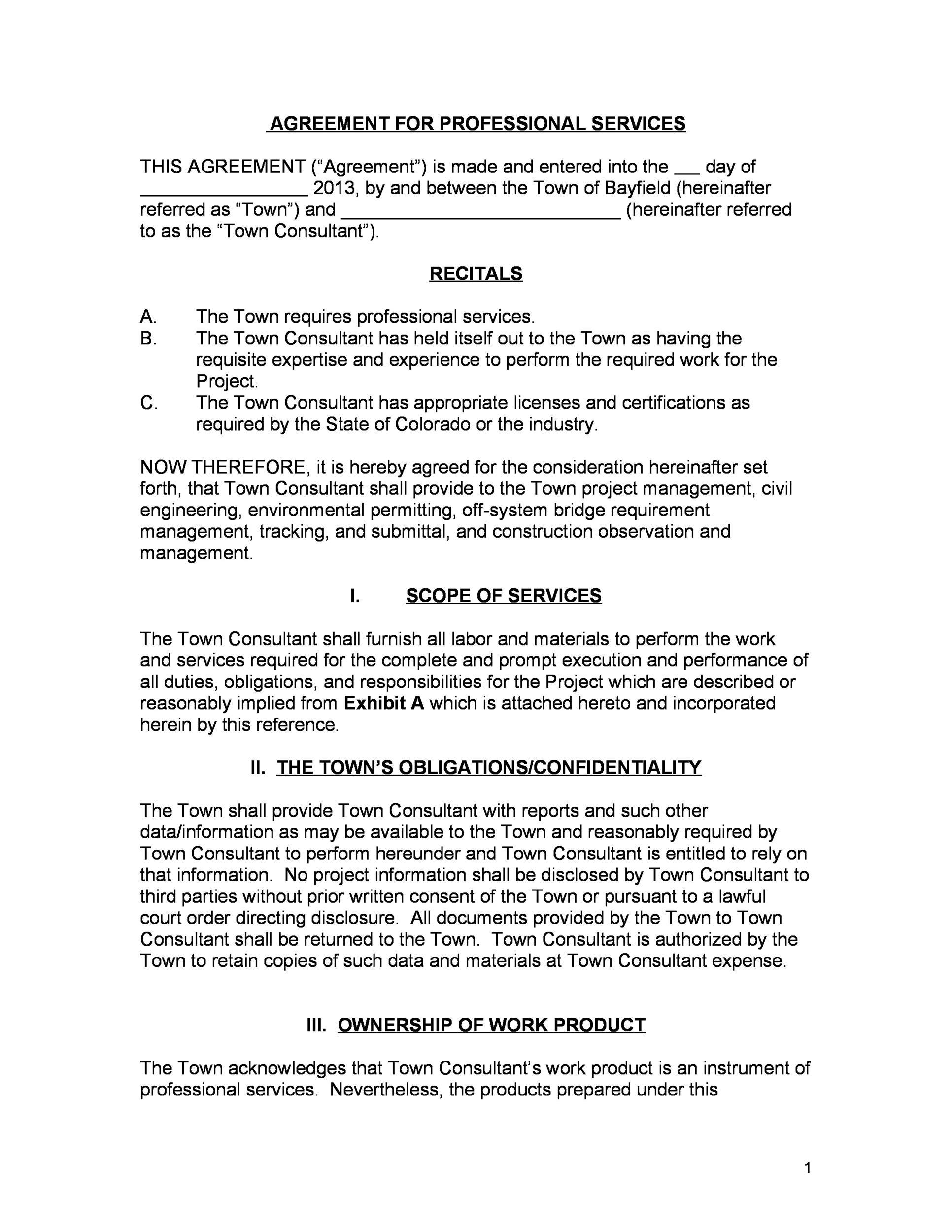 Free Service Agreement Template 15
