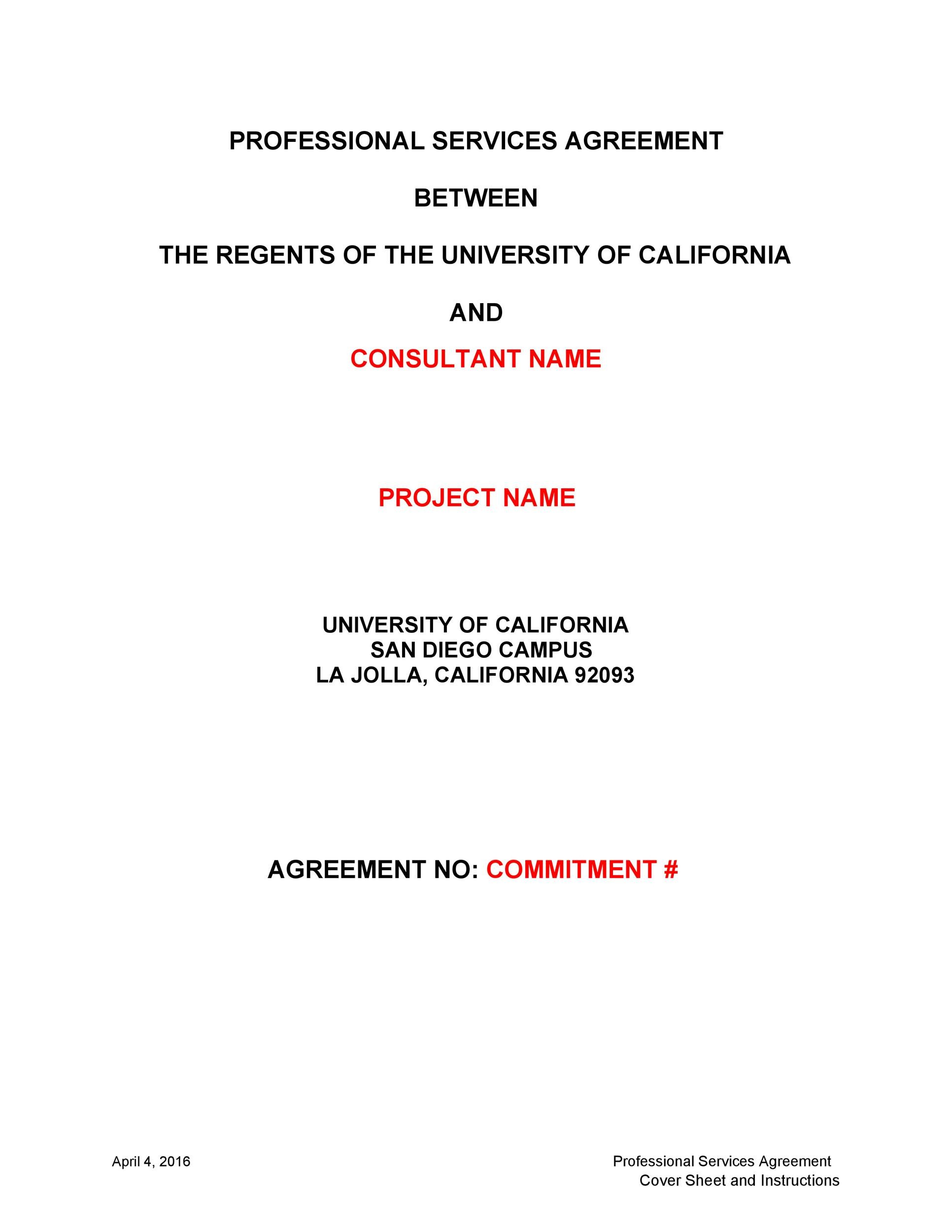 Free Service Agreement Template 28