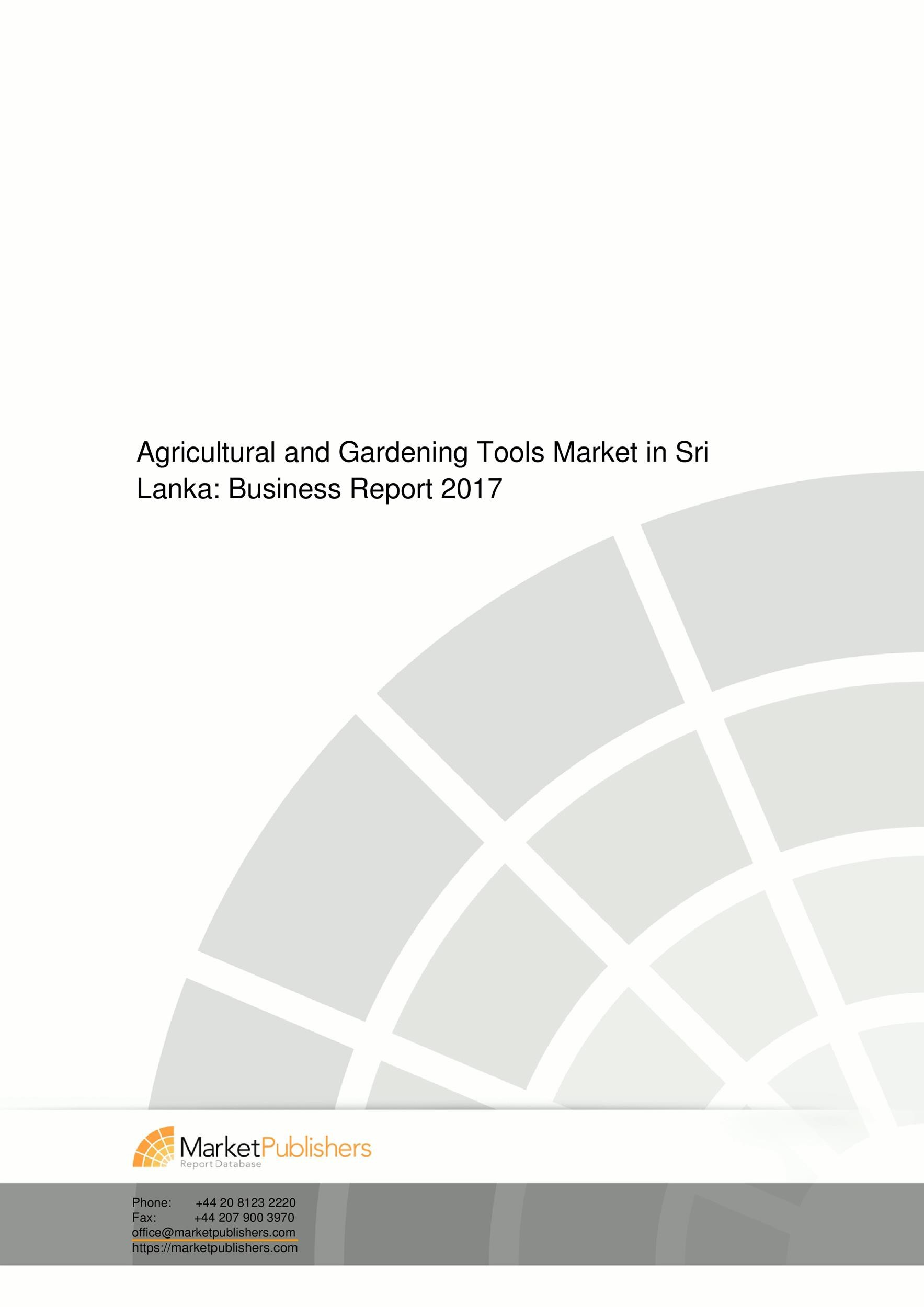 Free business report template 11