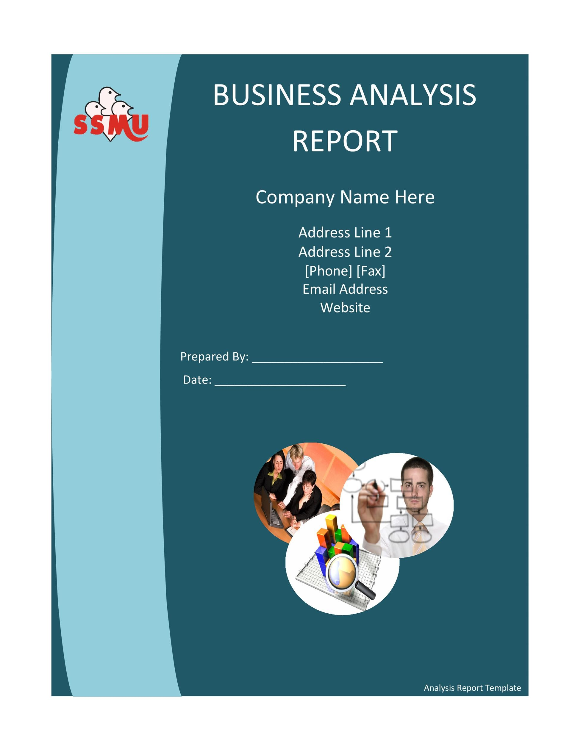 Free business report template 35