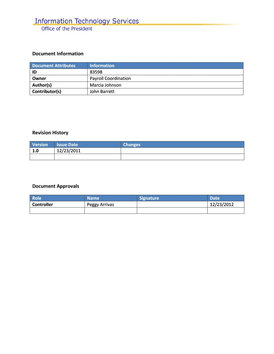 Free business requirements document template 06