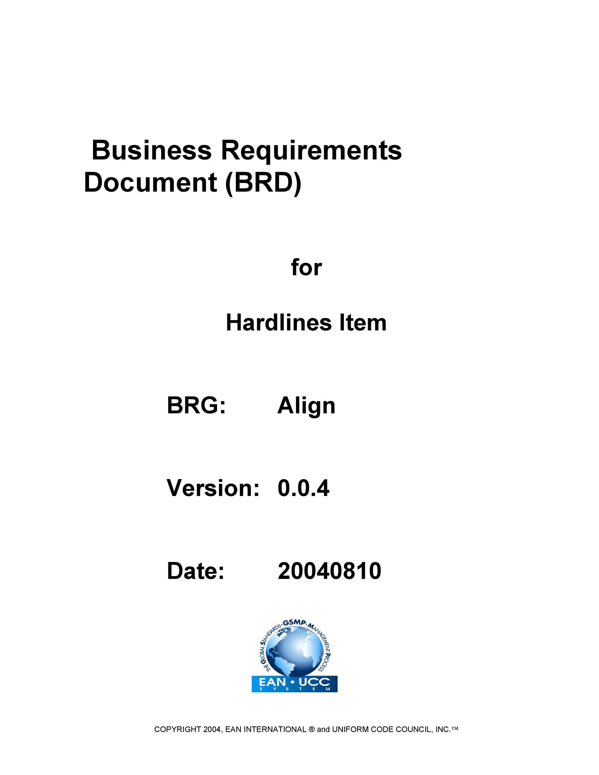 Free business requirements document template 21