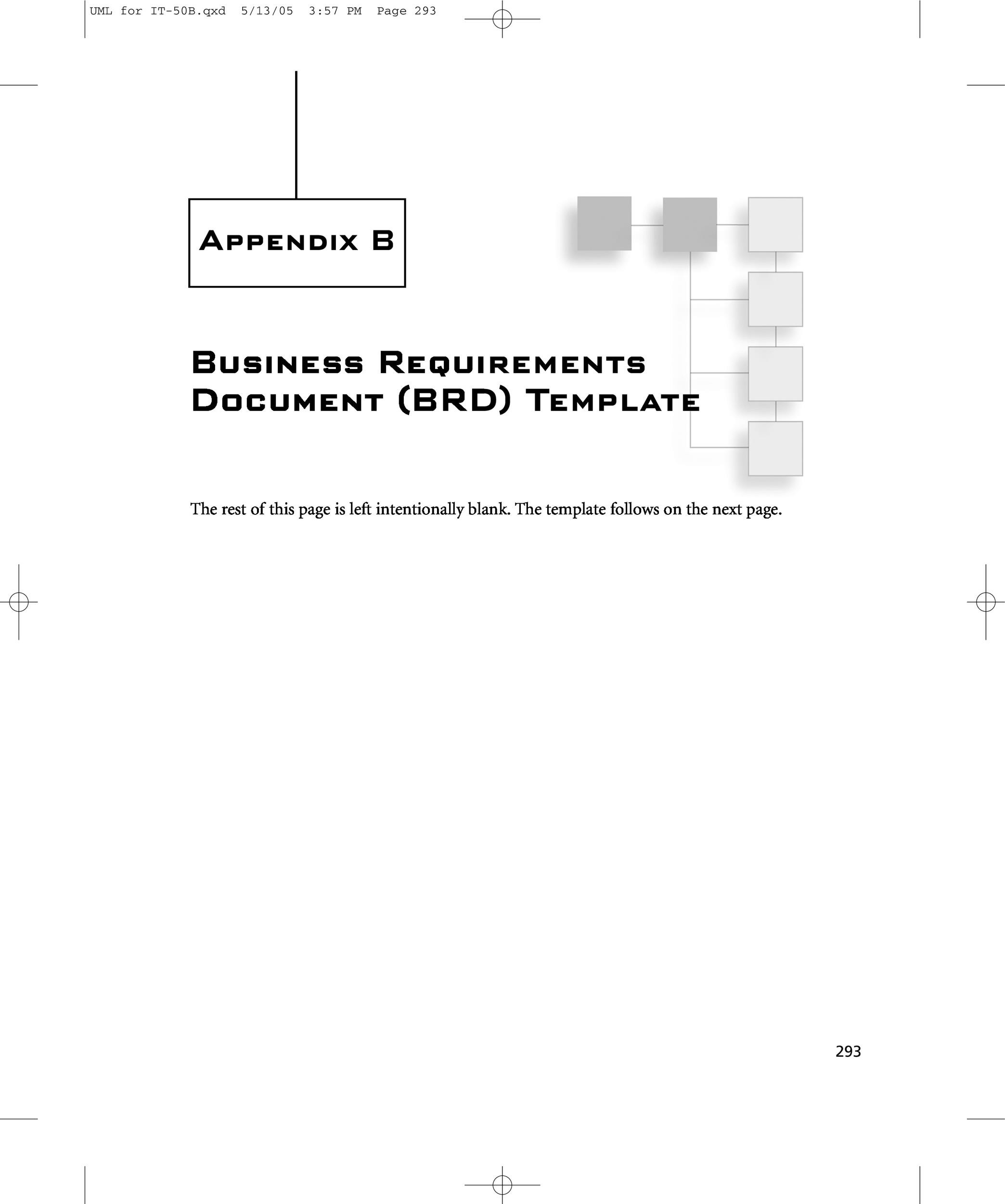 40 simple business requirements document templates template lab free business requirements document template 42 accmission Gallery