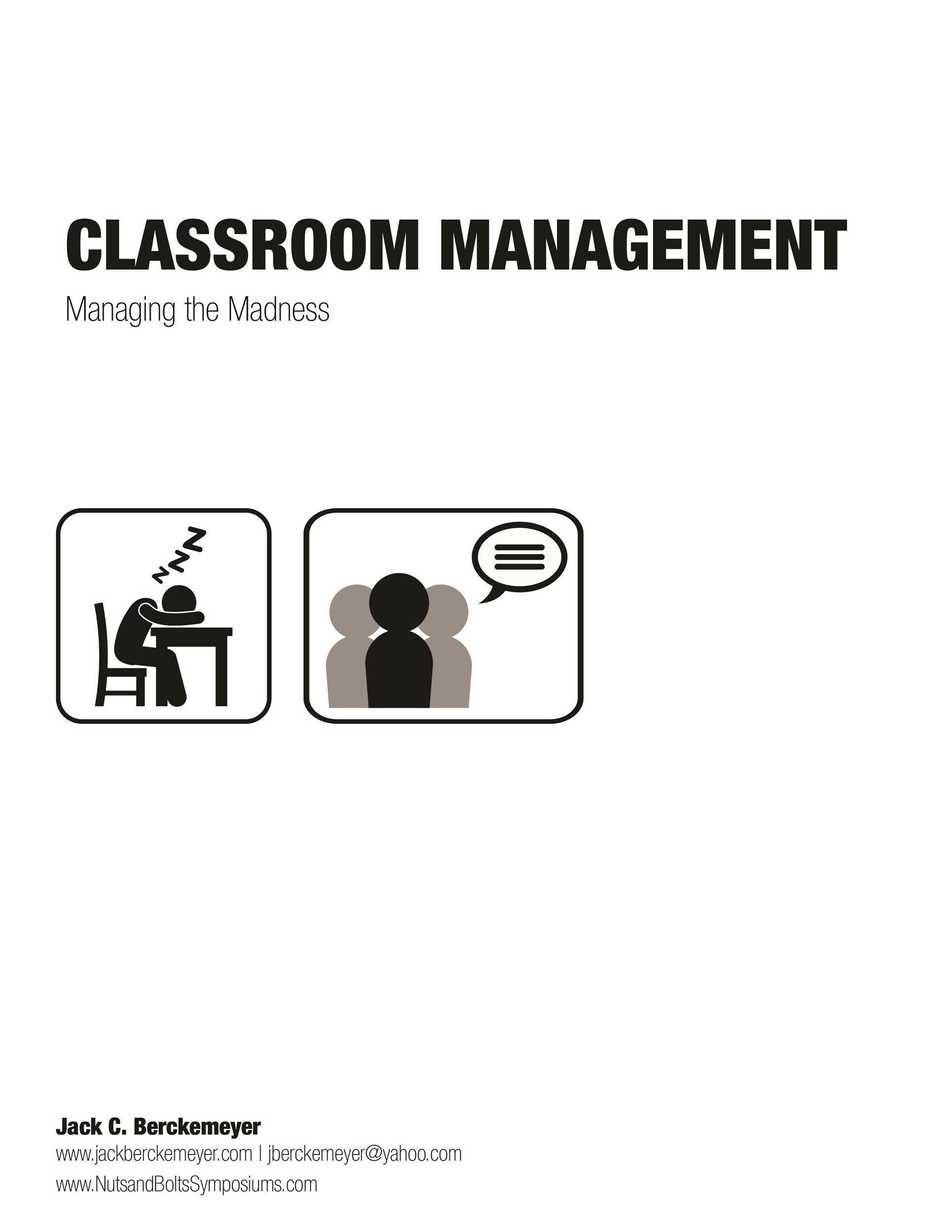 Free classroom management plan 29