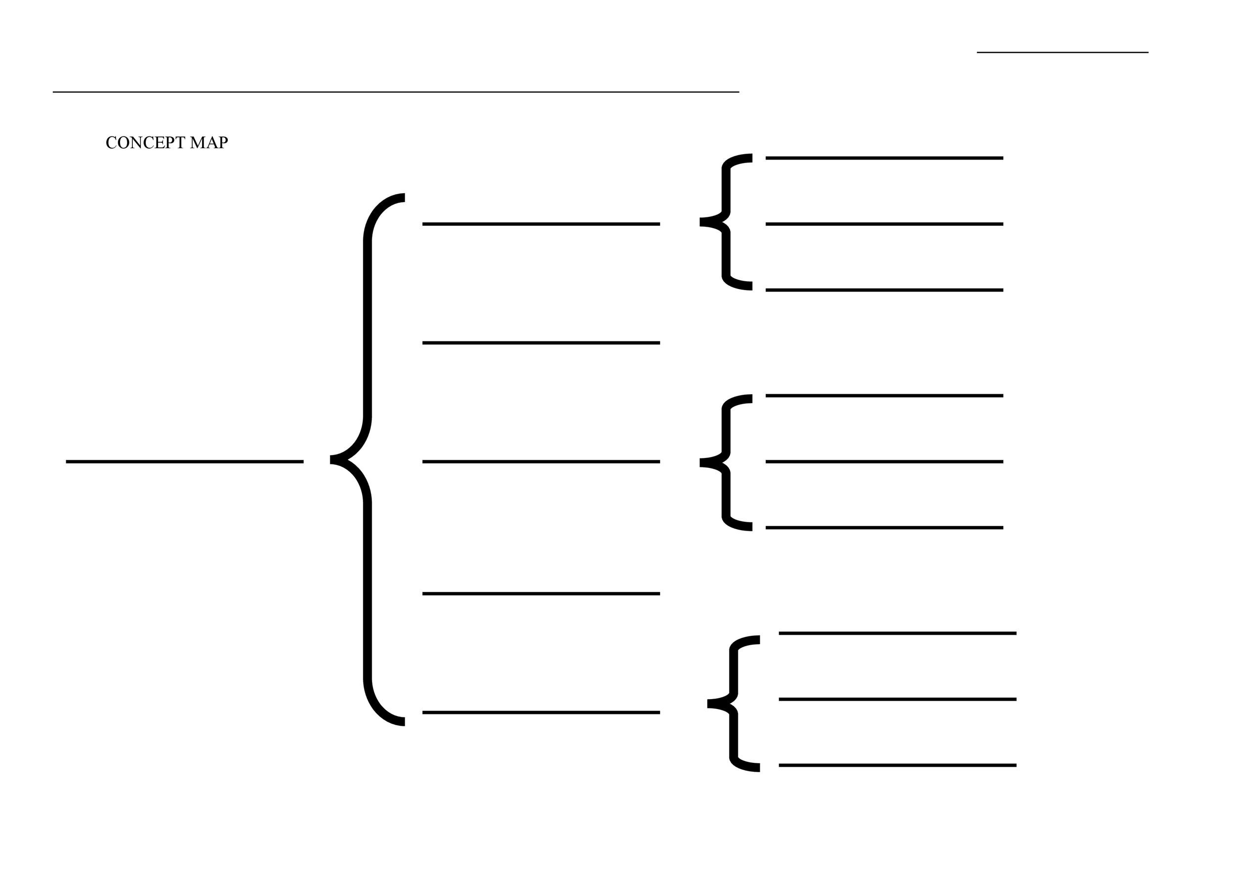 40 Concept Map Templates Hierarchical Spider Flowchart