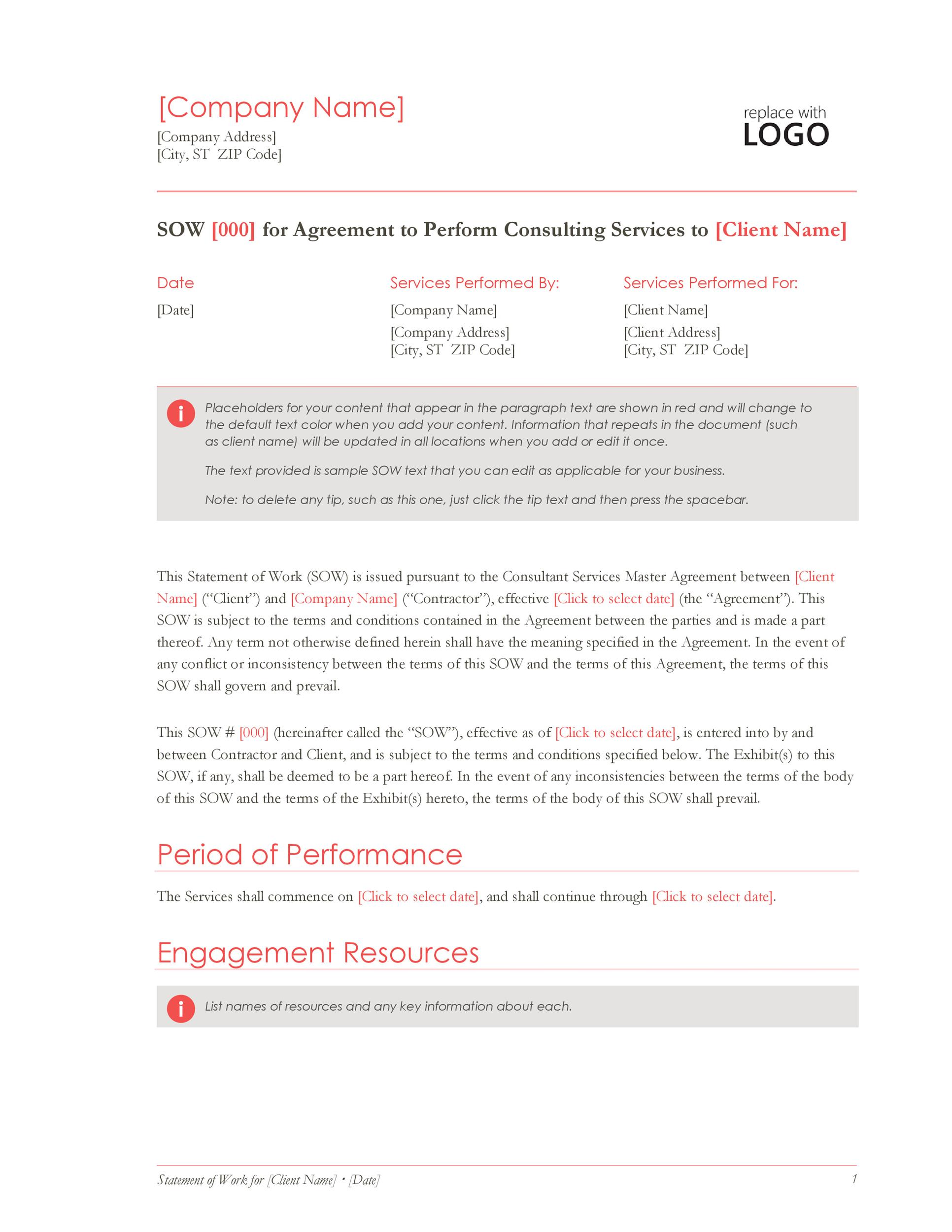 Free construction proposal template 14