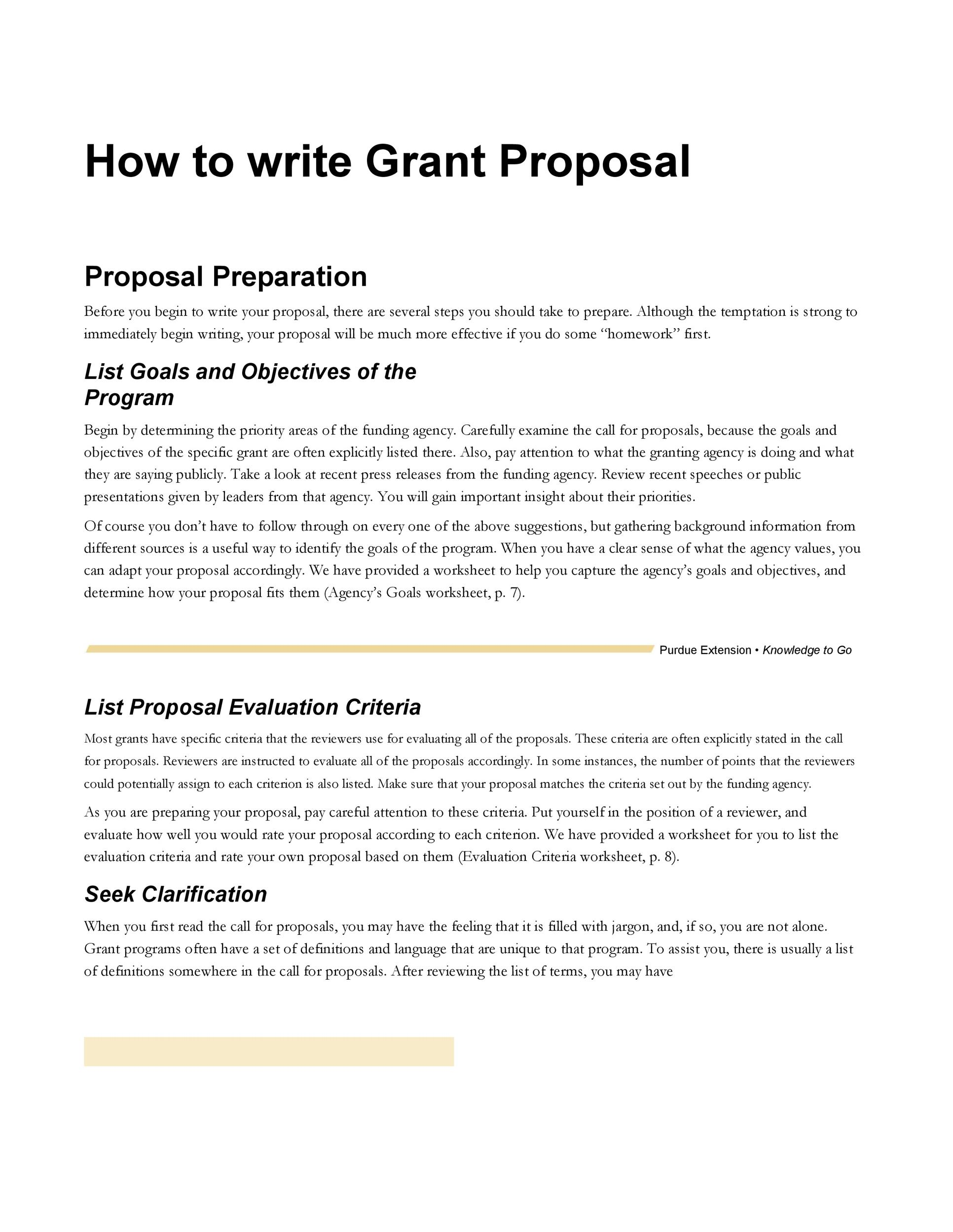 How to Write a Grant Proposal for a Non-Profit Organization