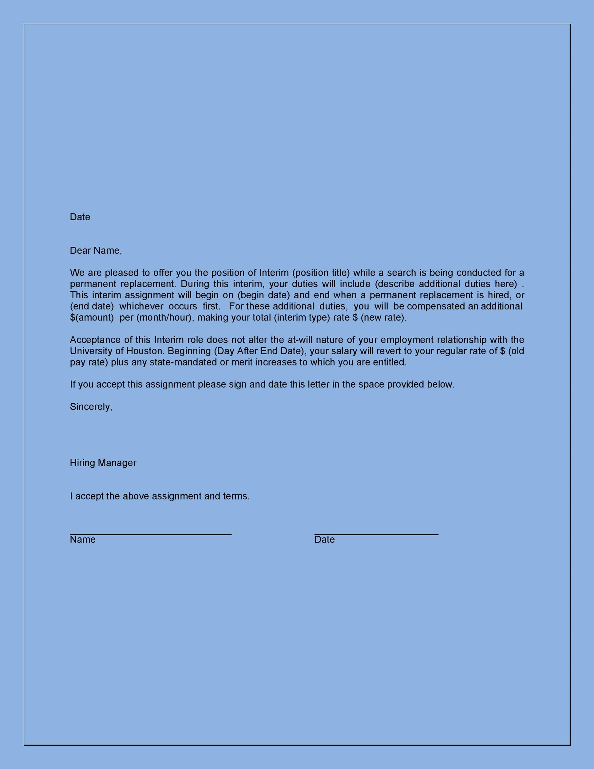 40 professional job offer acceptance letter email templates
