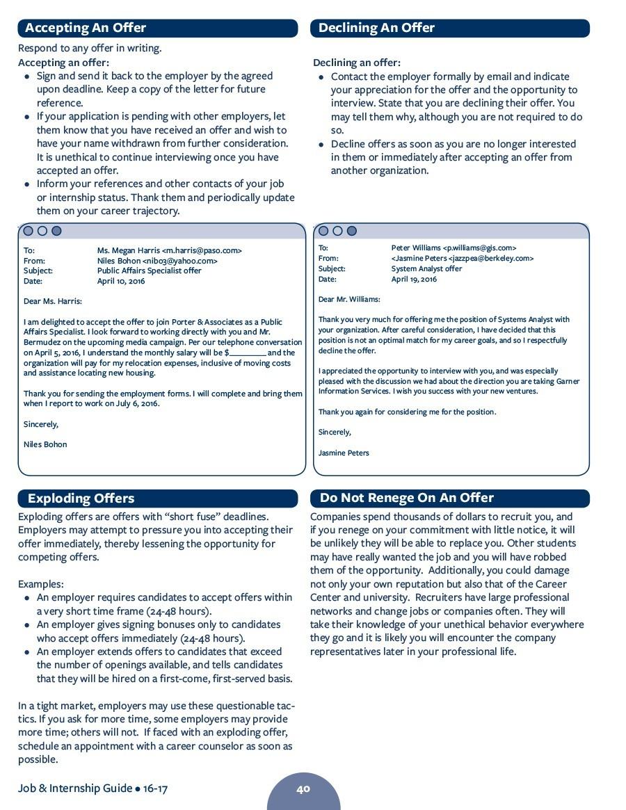Free job acceptance letter 32