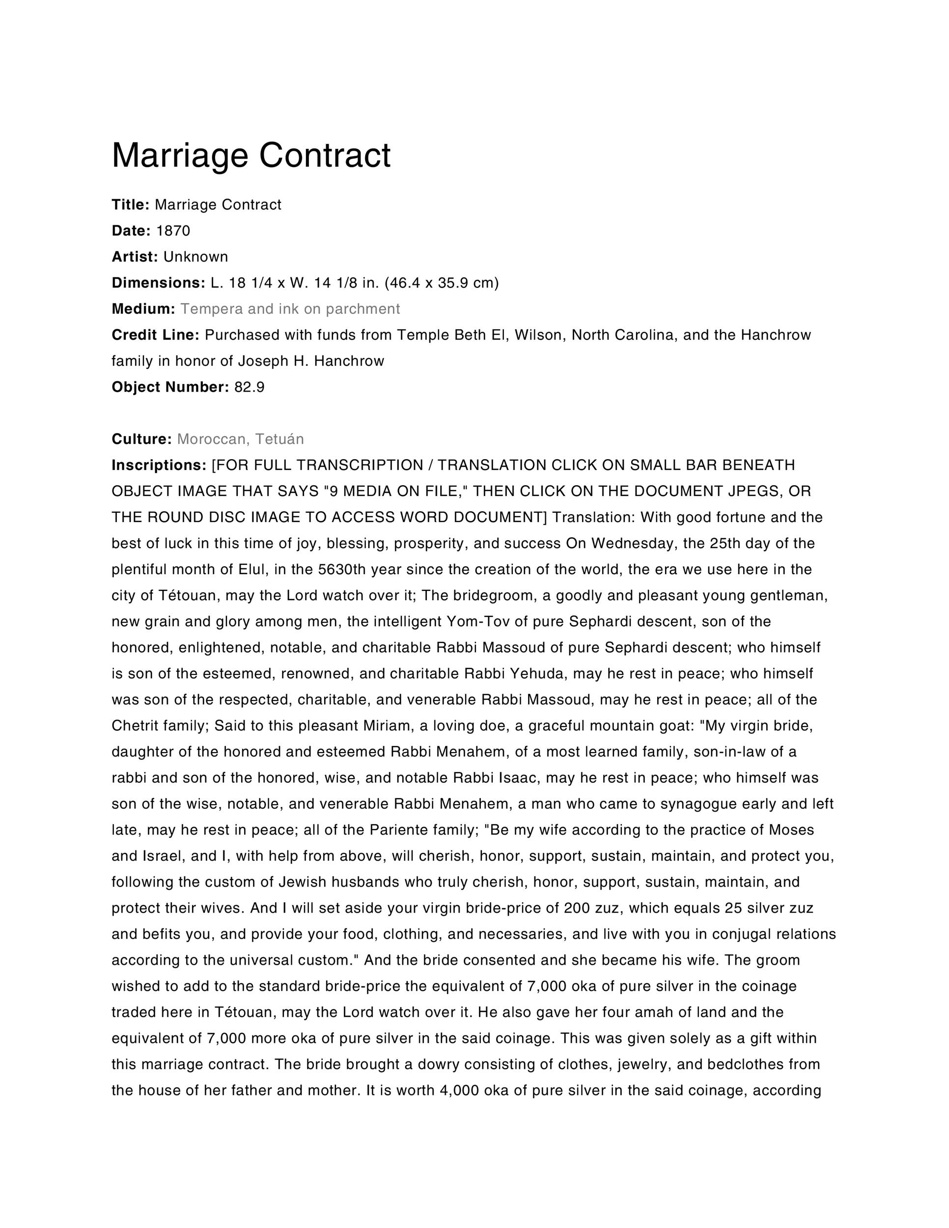 Free marriage contract template 33