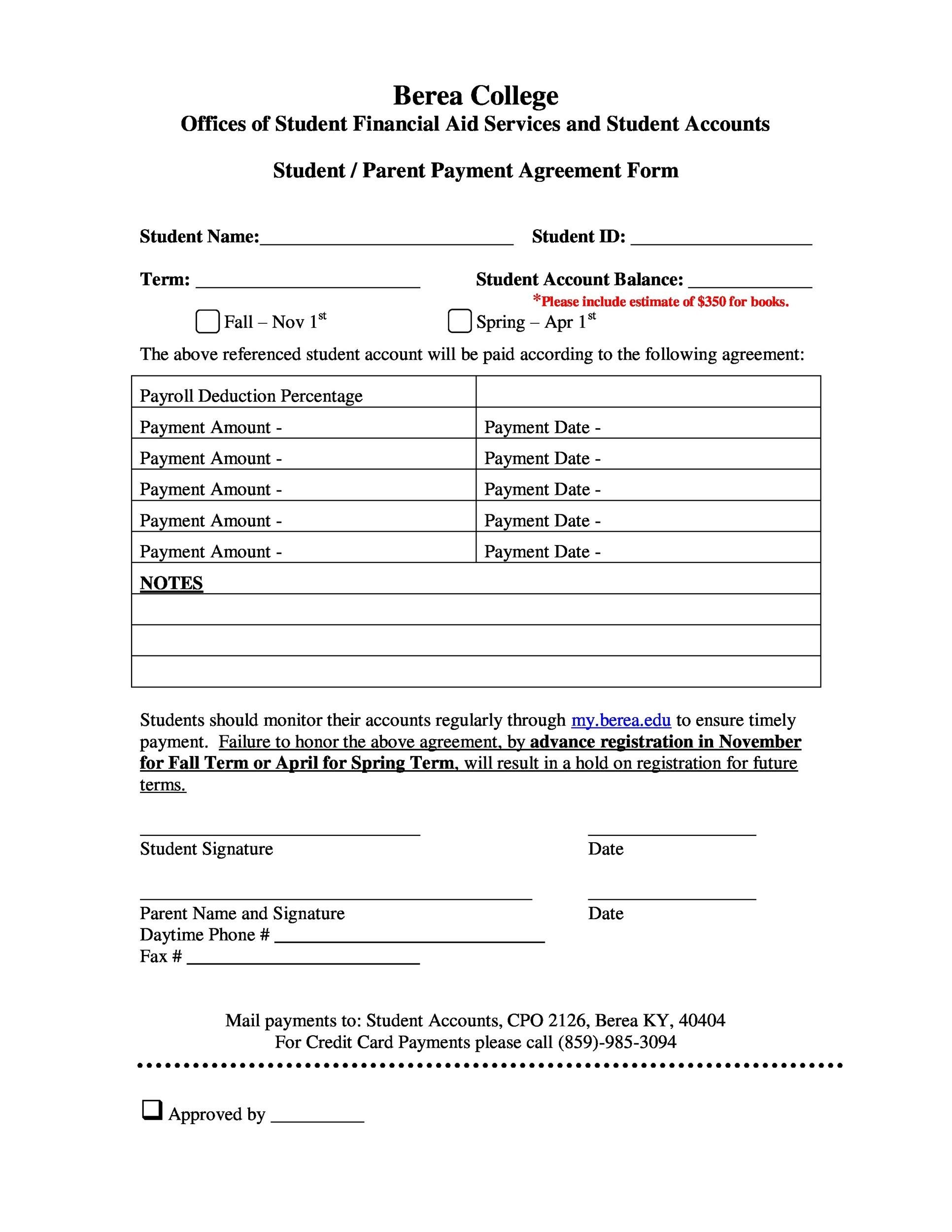 Free payment agreement template 27