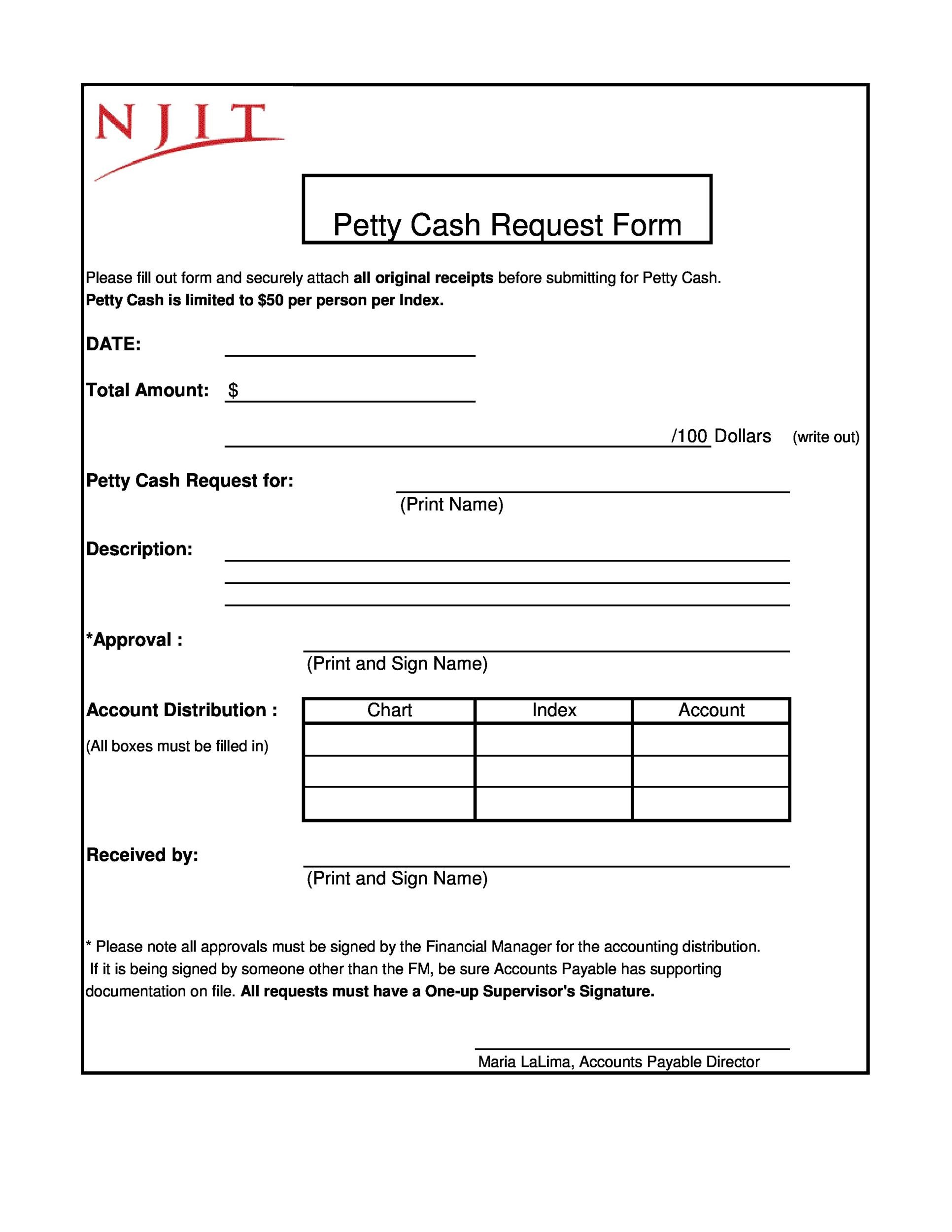Free petty cash log 29