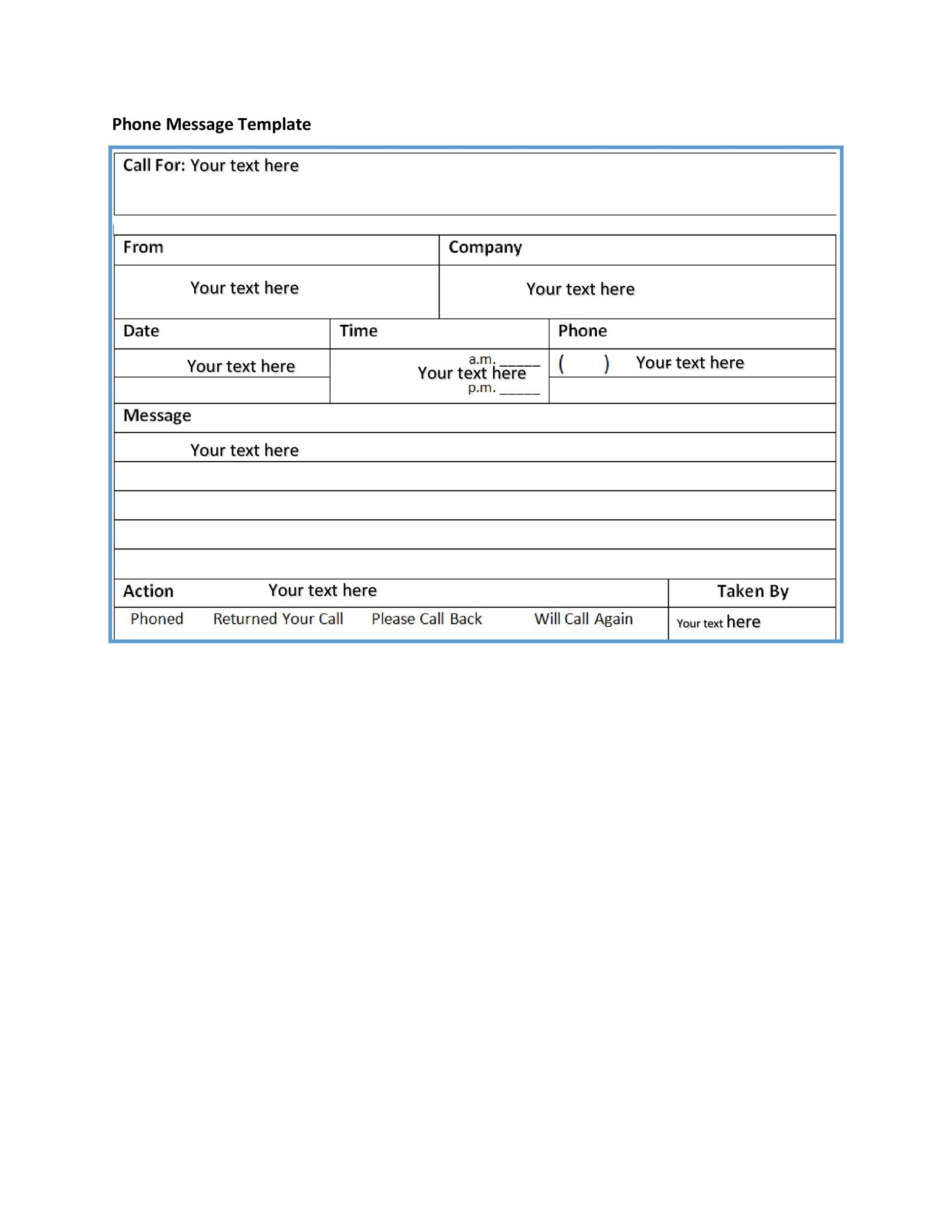 Voicemail Greetings  Phone Message Templates Business Funny