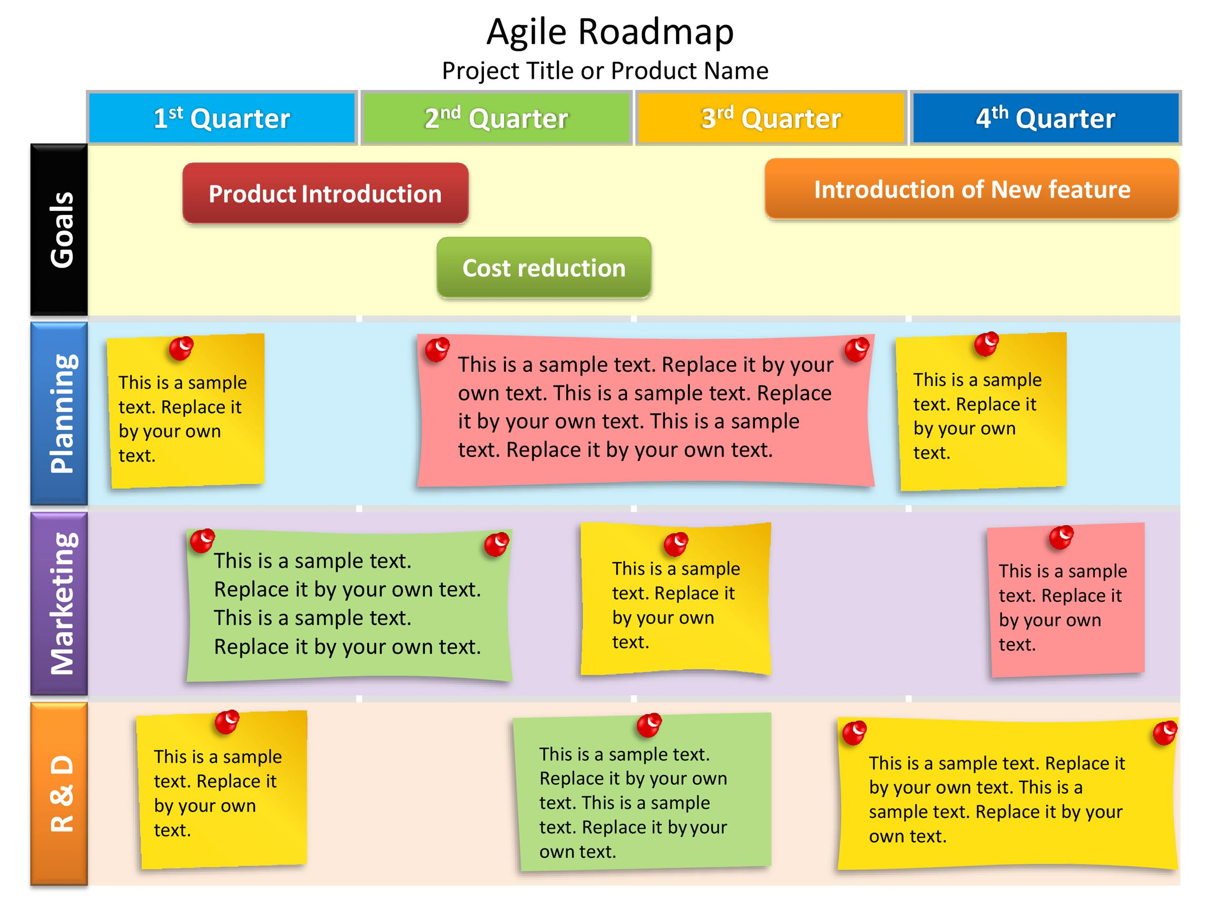 Free product roadmap template 09
