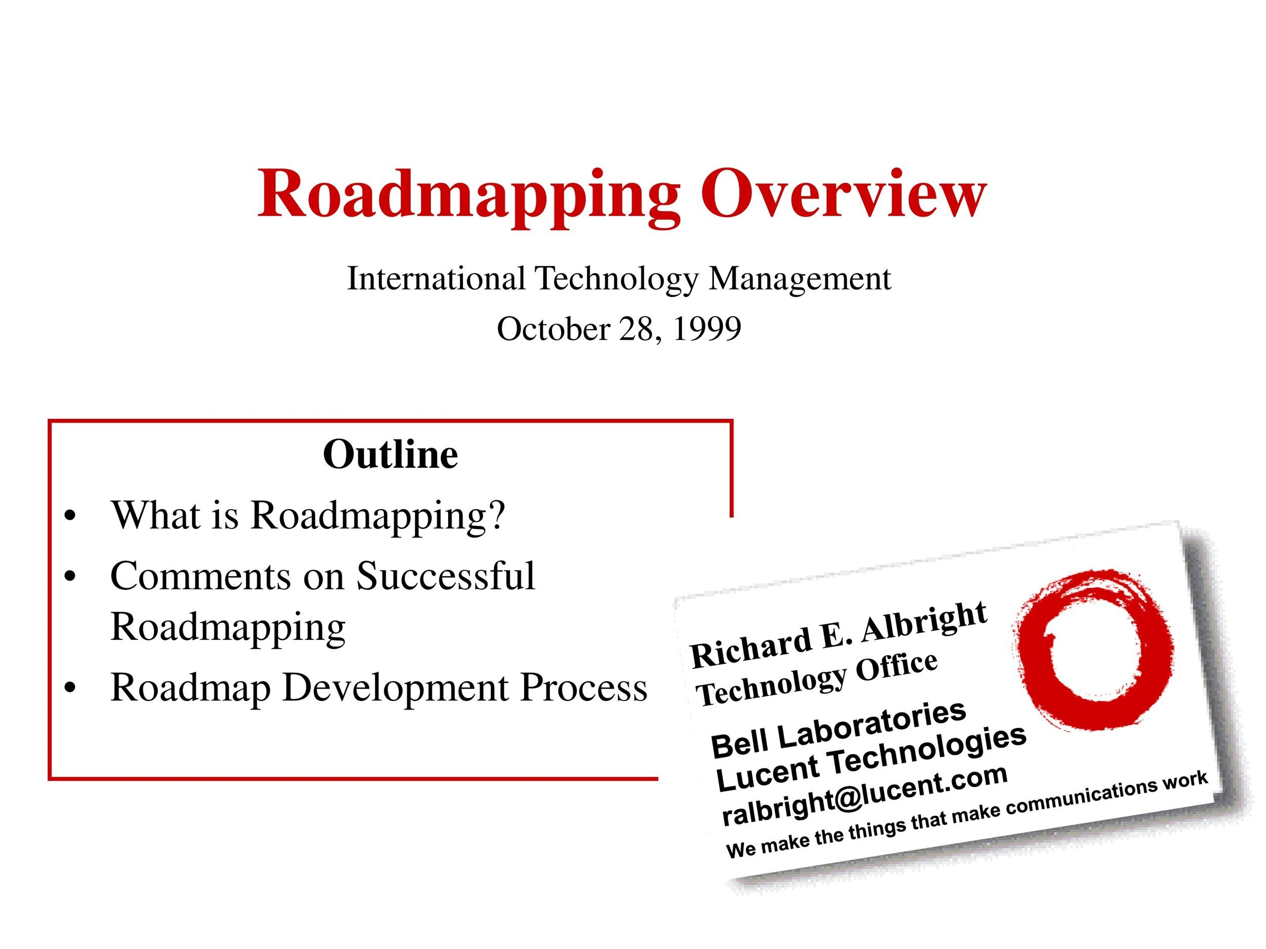 Free product roadmap template 15