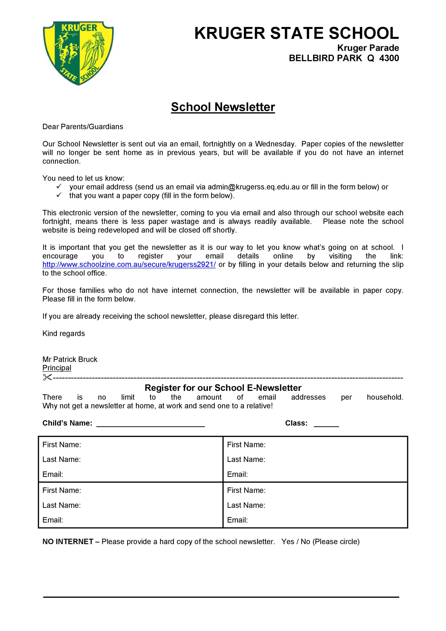 Free professional email example 11