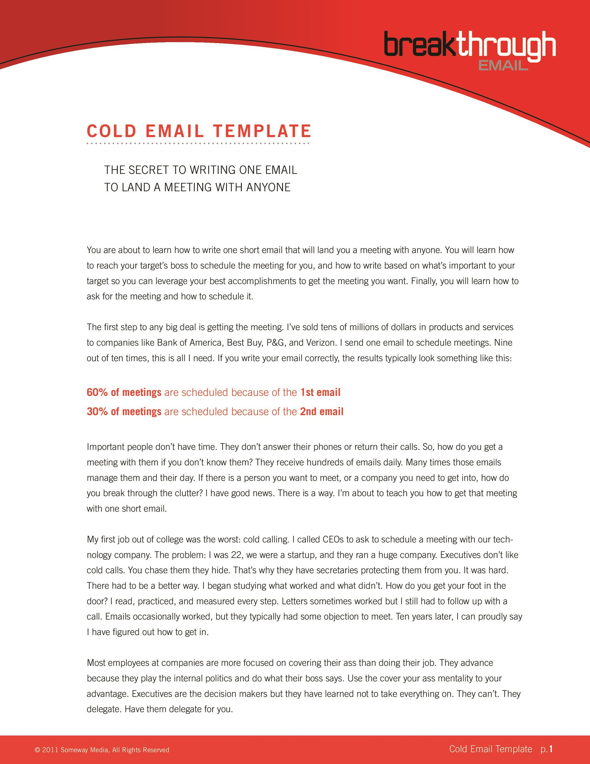 Free professional email example 12