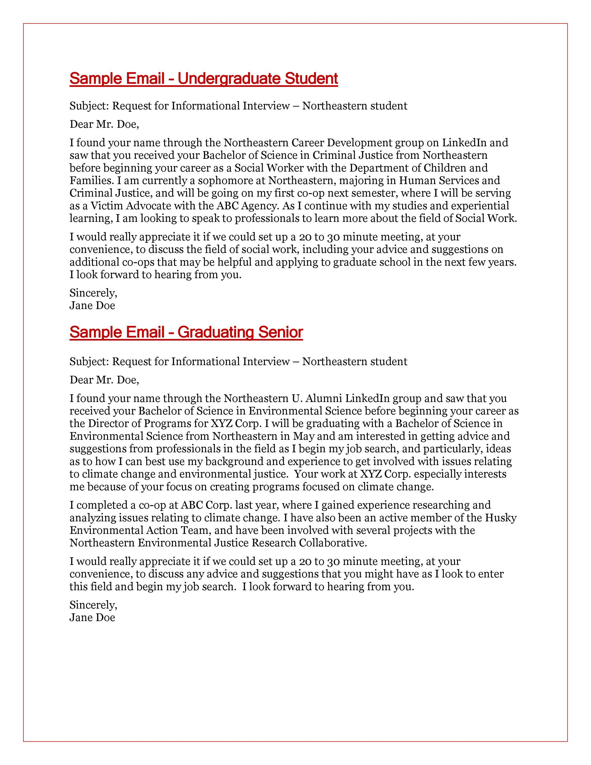 Professional Email Examples  Format Templates  Template Lab