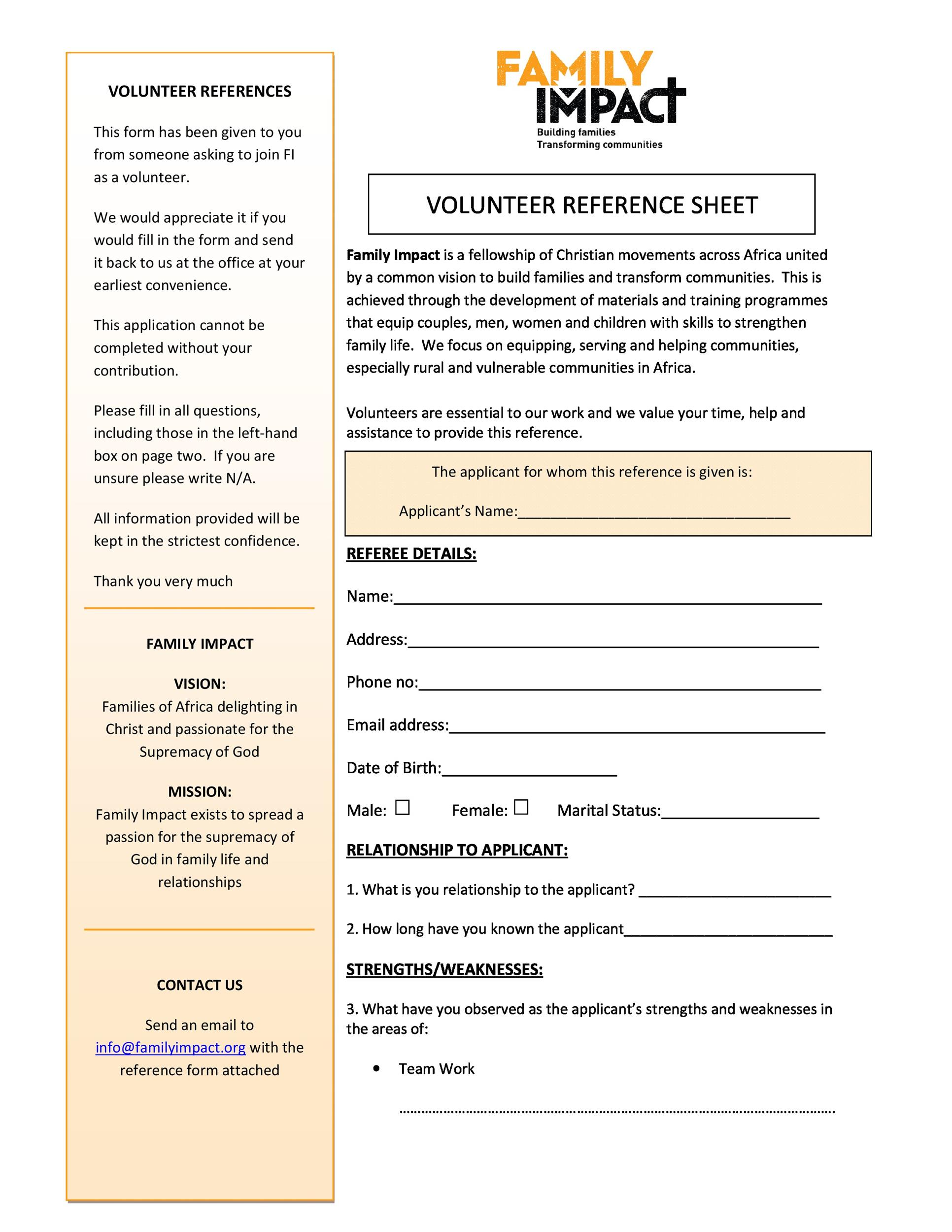 Free reference page template 27