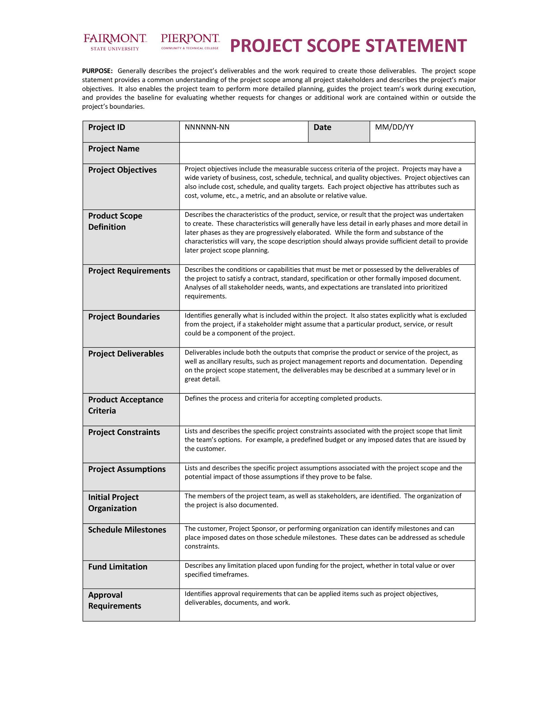 Free status report template 28
