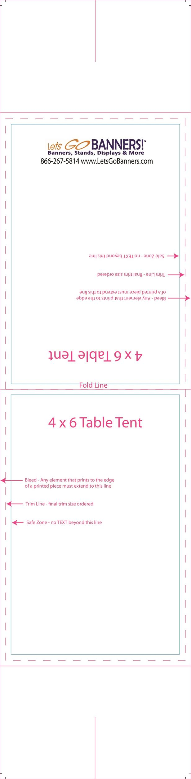Free table tent template 11