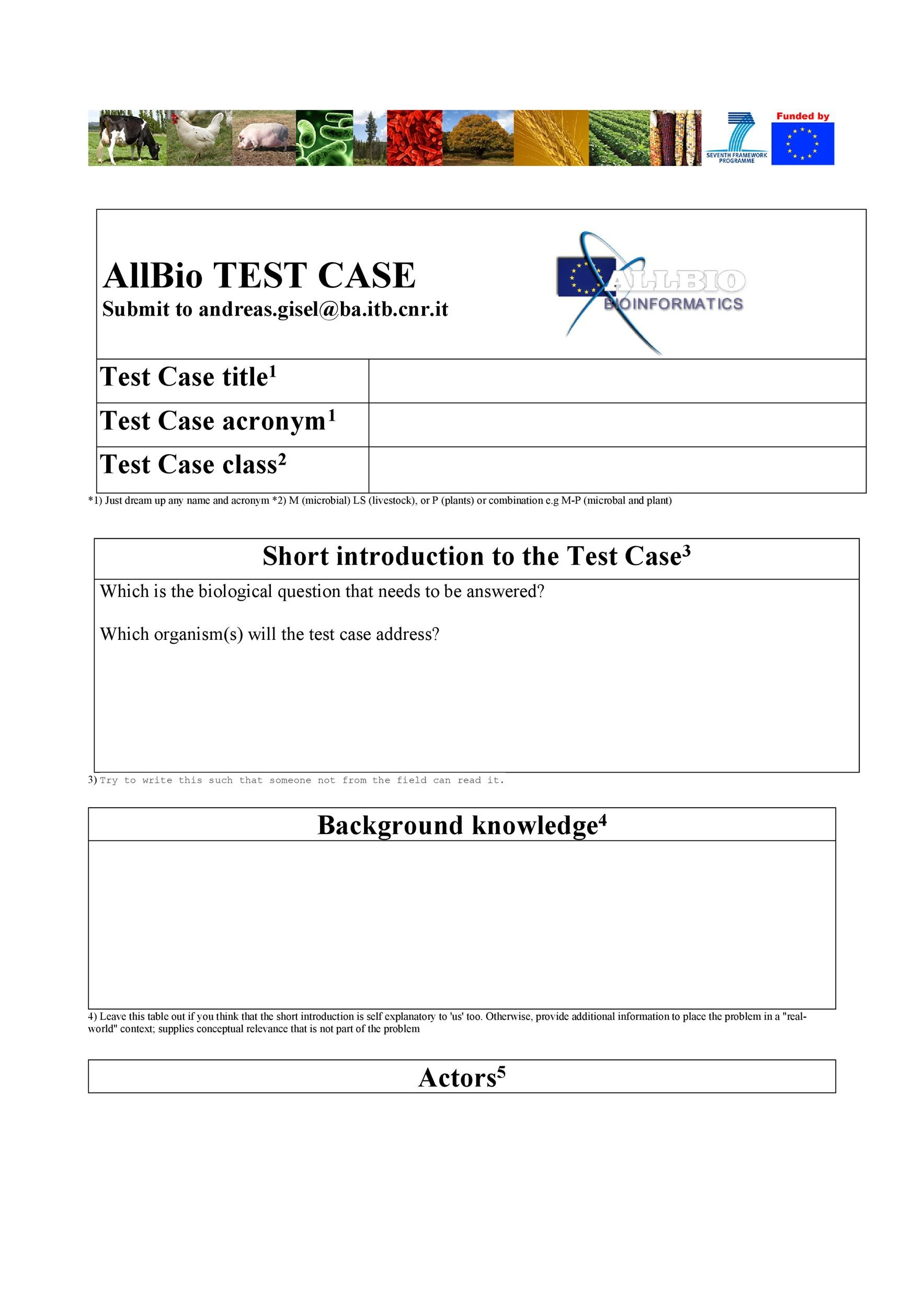 Free test case template 23