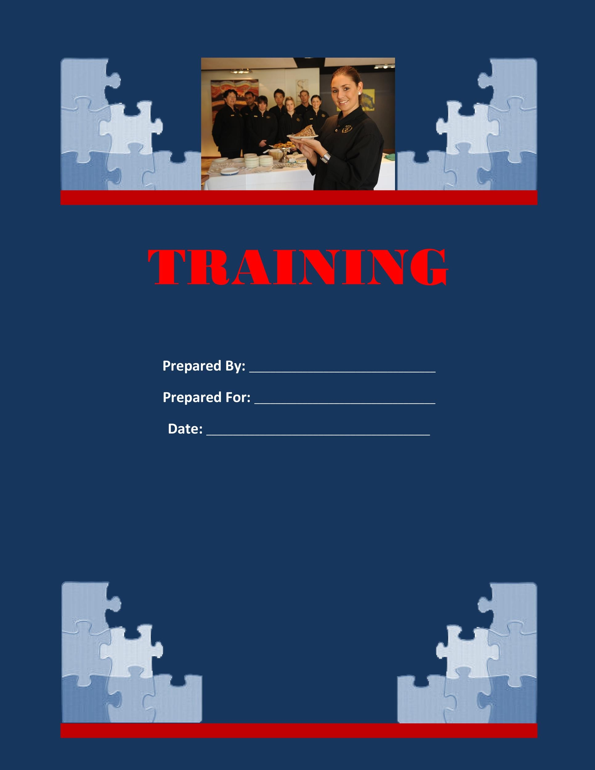 Free training manual template 12