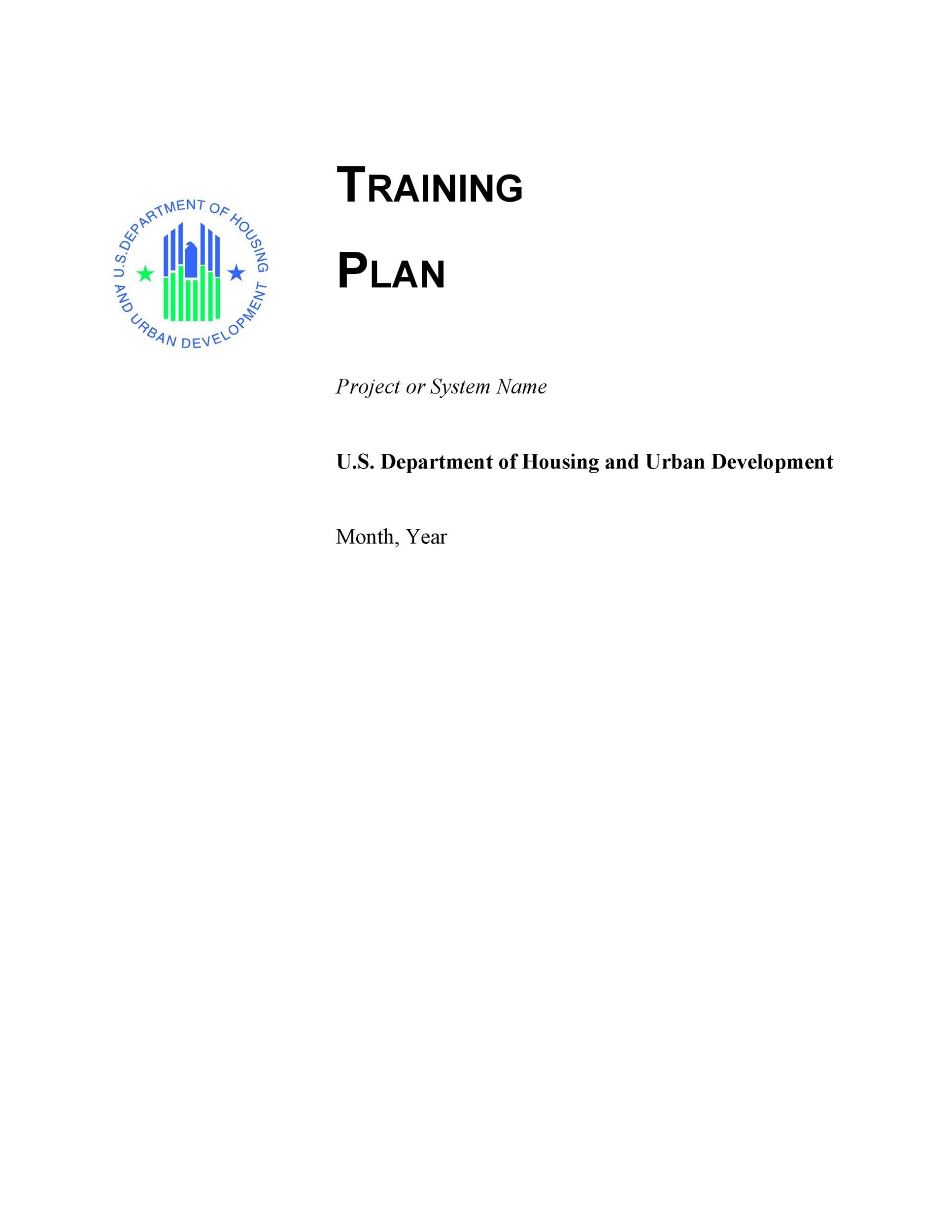 Free training manual template 29