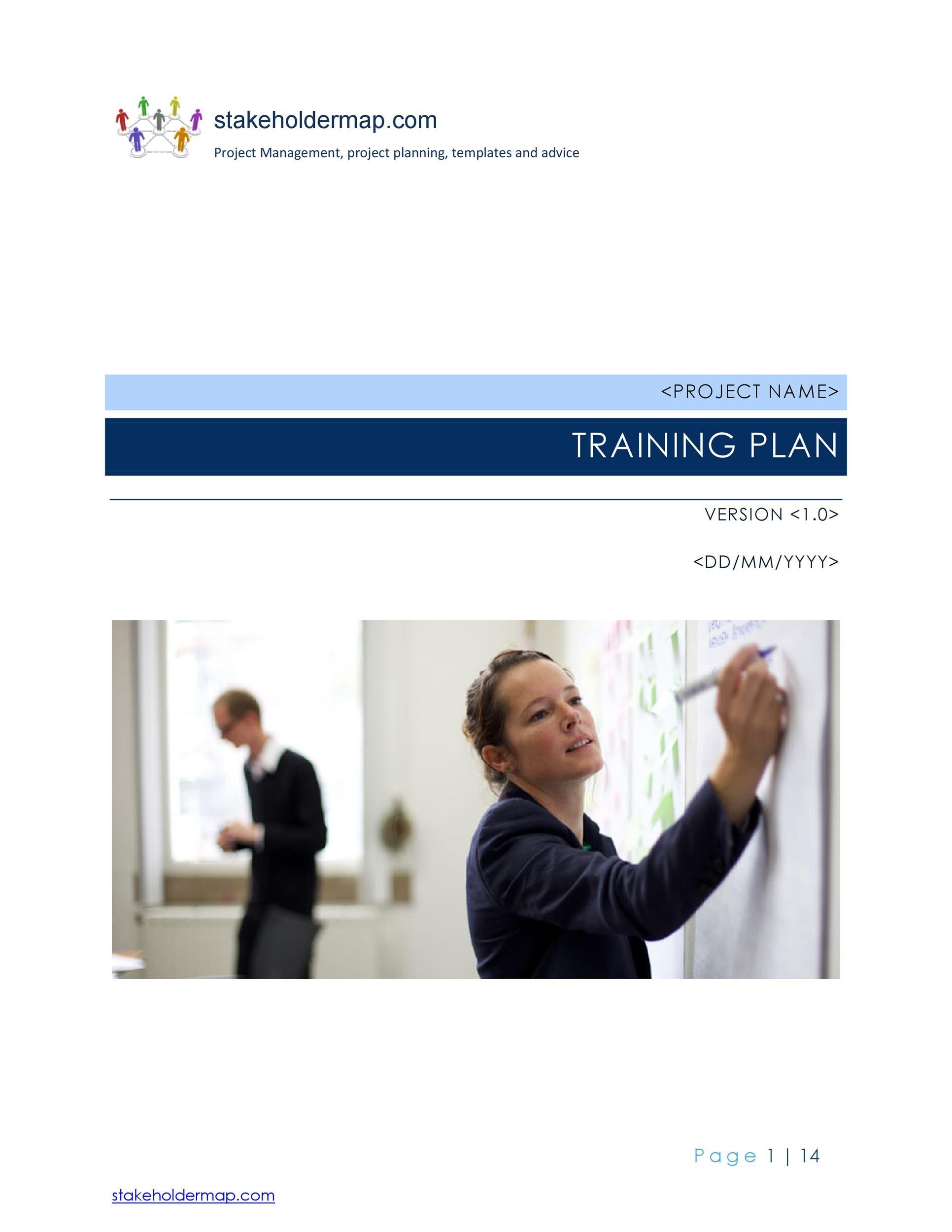 Free training manual template 34