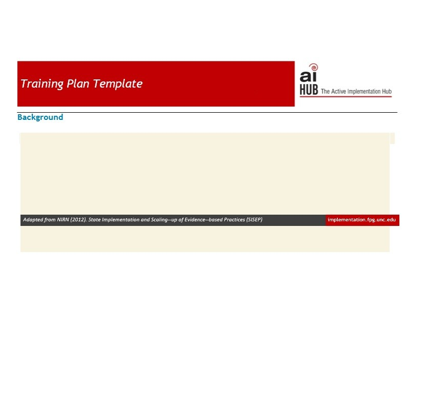 Free training manual template 37