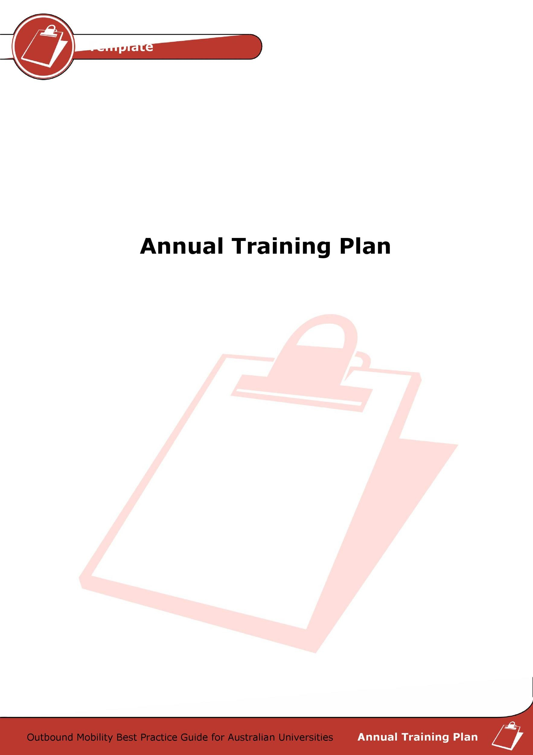 Free training manual template 38