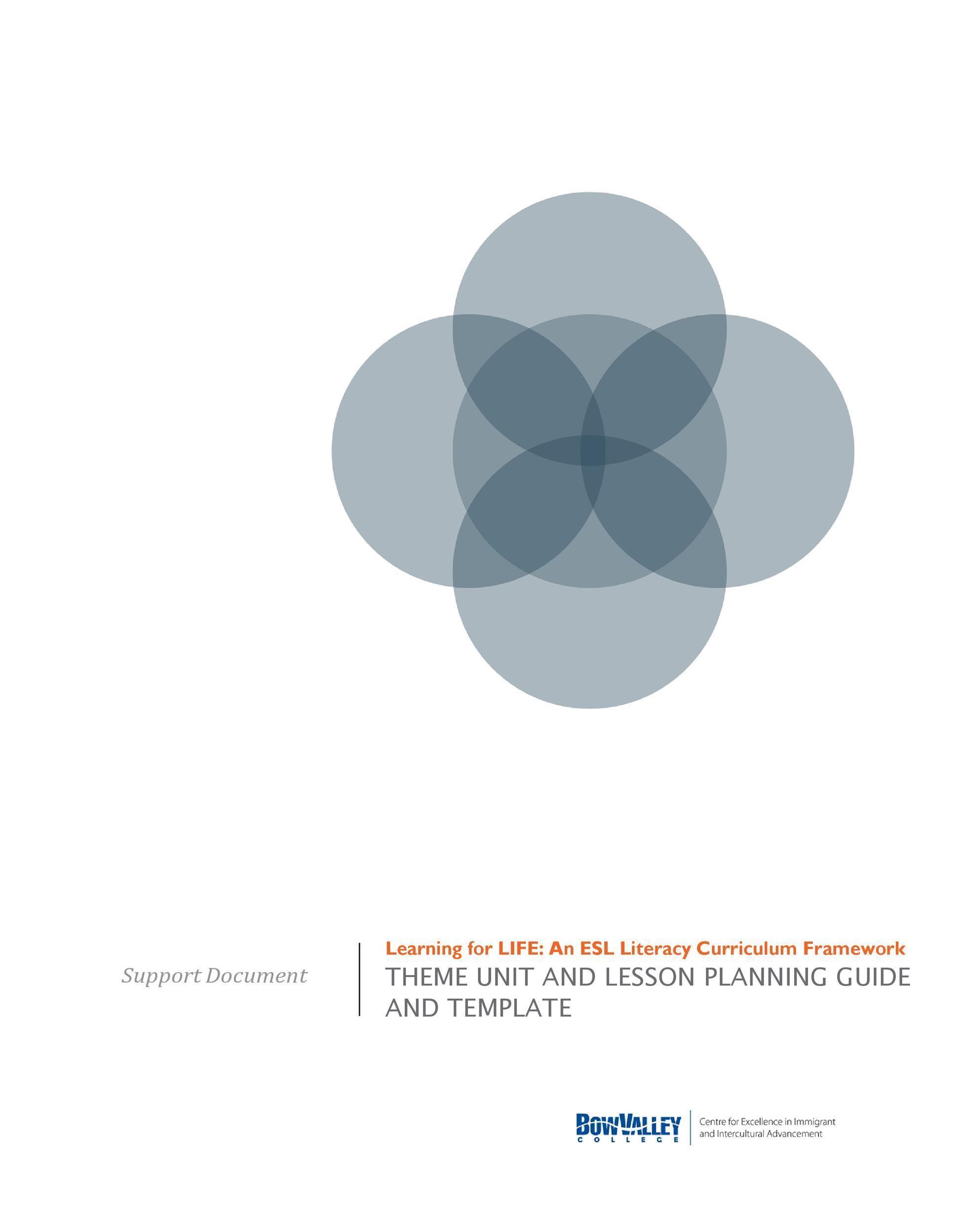 Free unit plan template 33