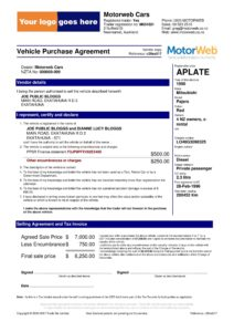 vehicle purchase agreement 16