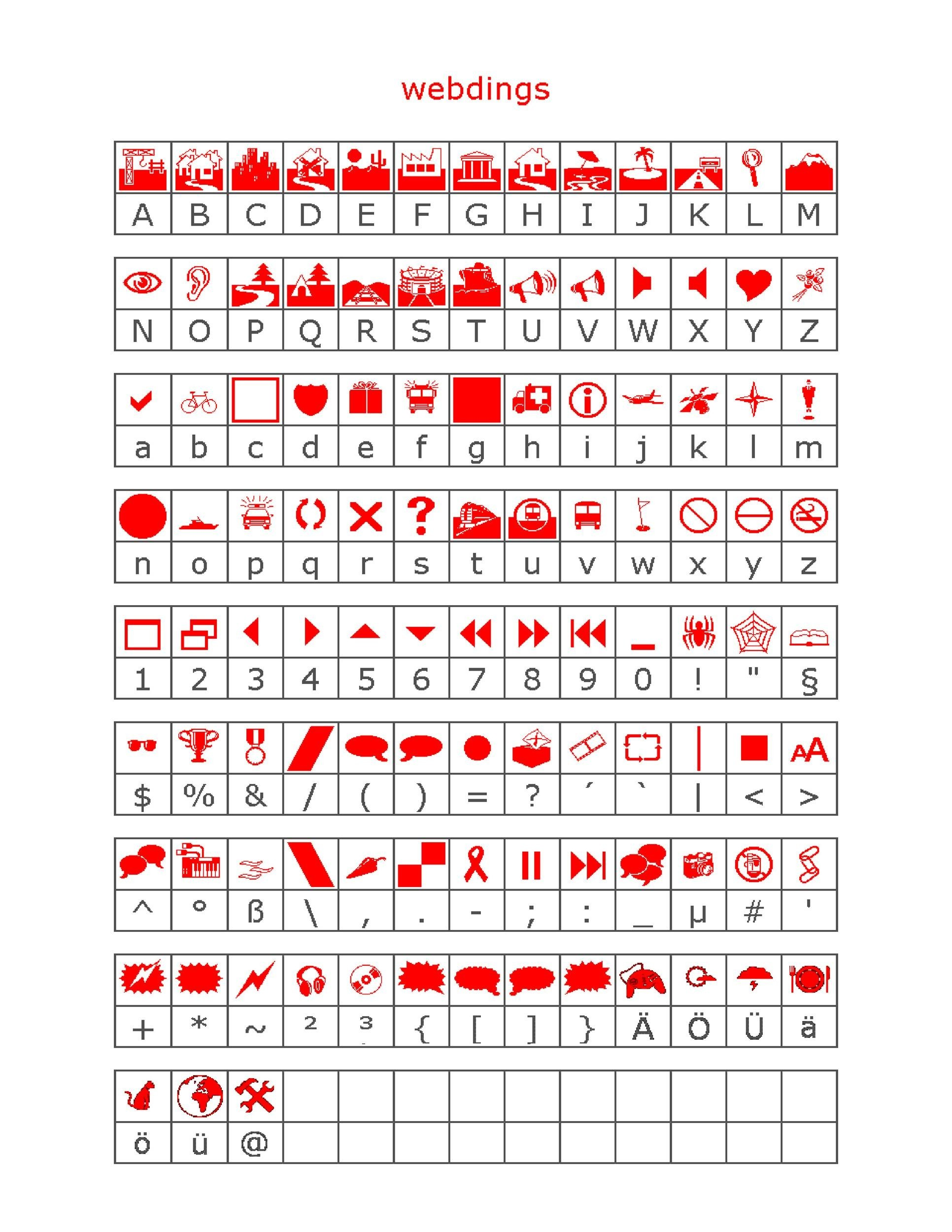 Free wingdings translator template 03