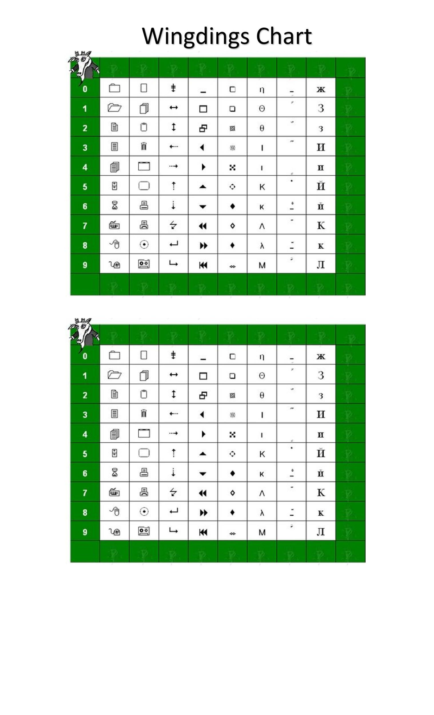 Free wingdings translator template 35