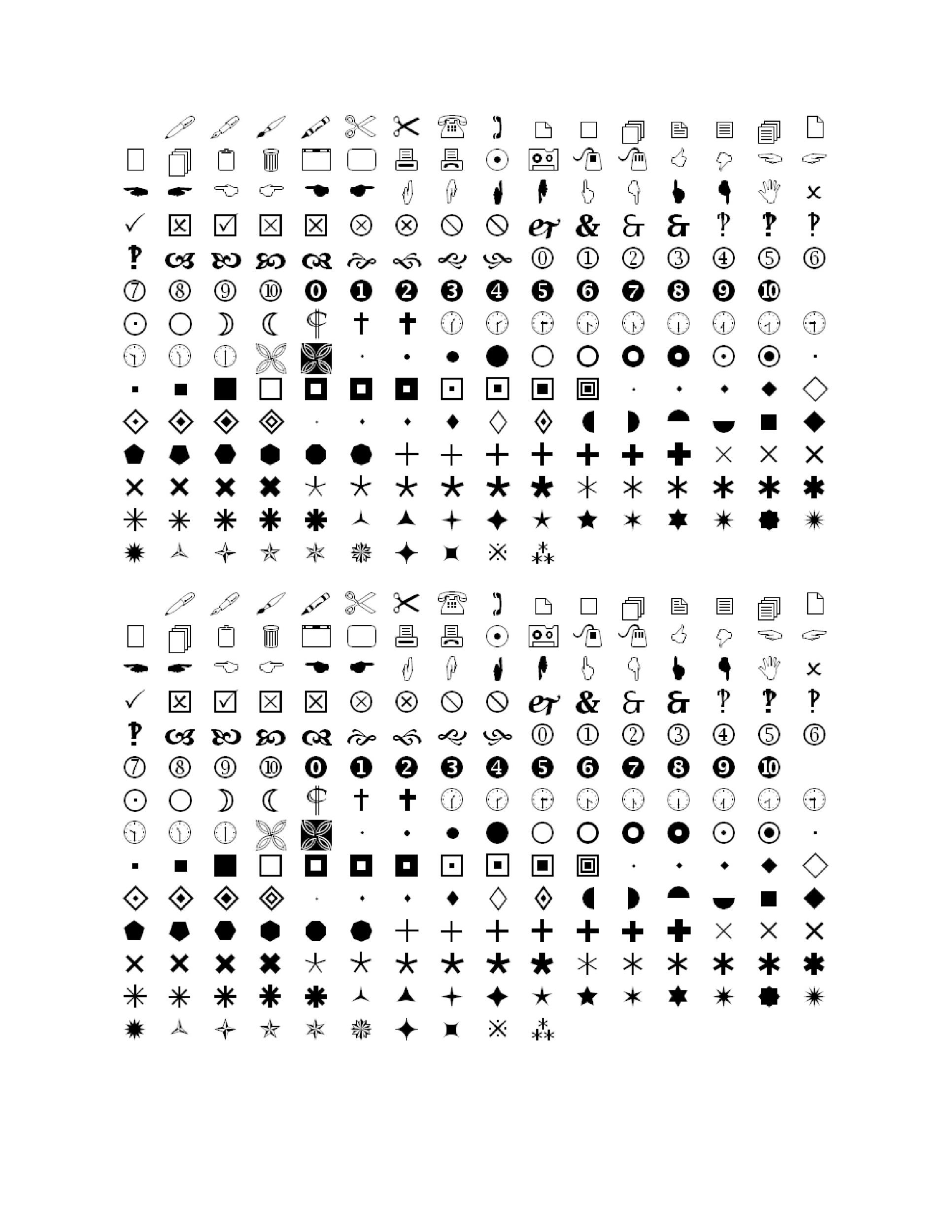 Free wingdings translator template 41