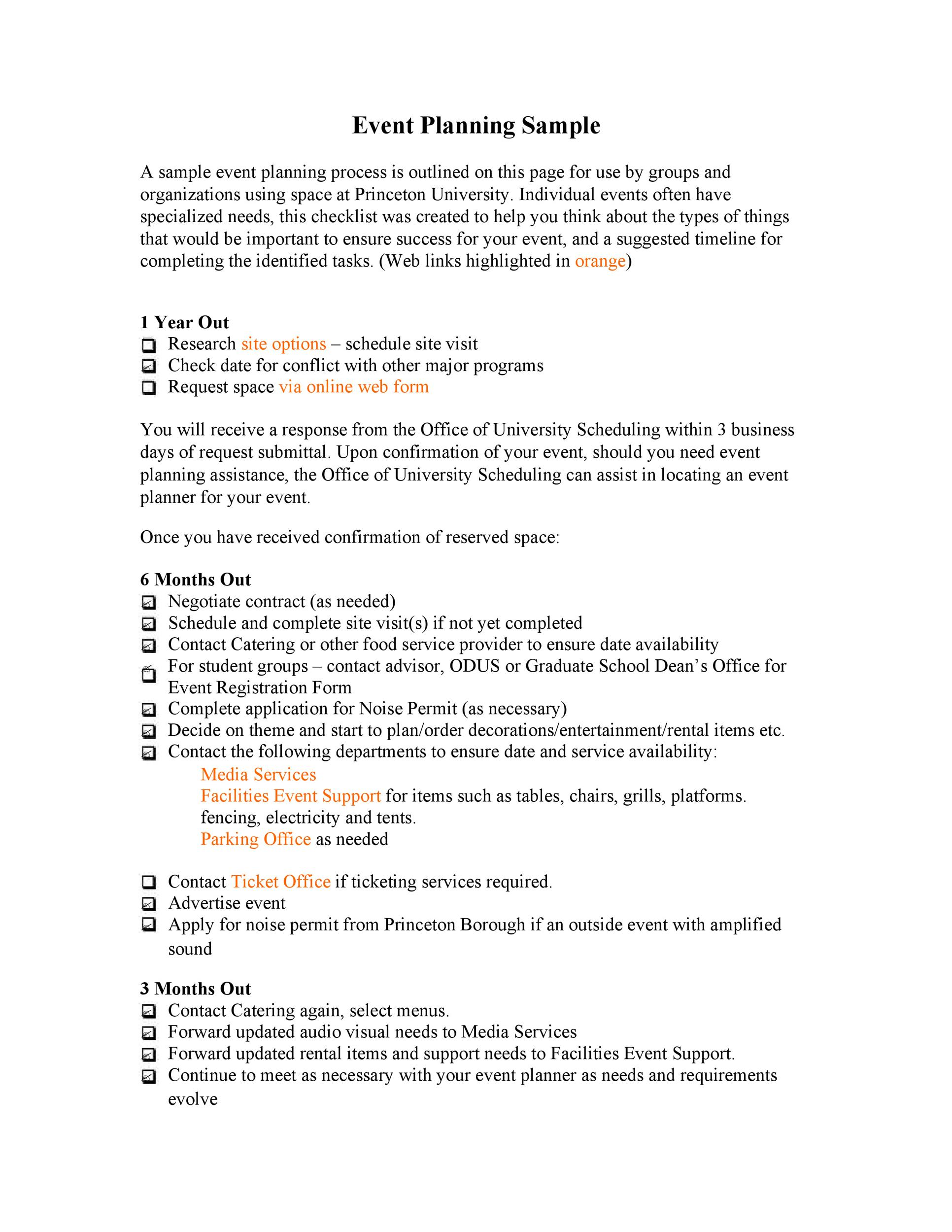 Professional Event Planning Checklist Templates Template Lab - Event planning timeline template