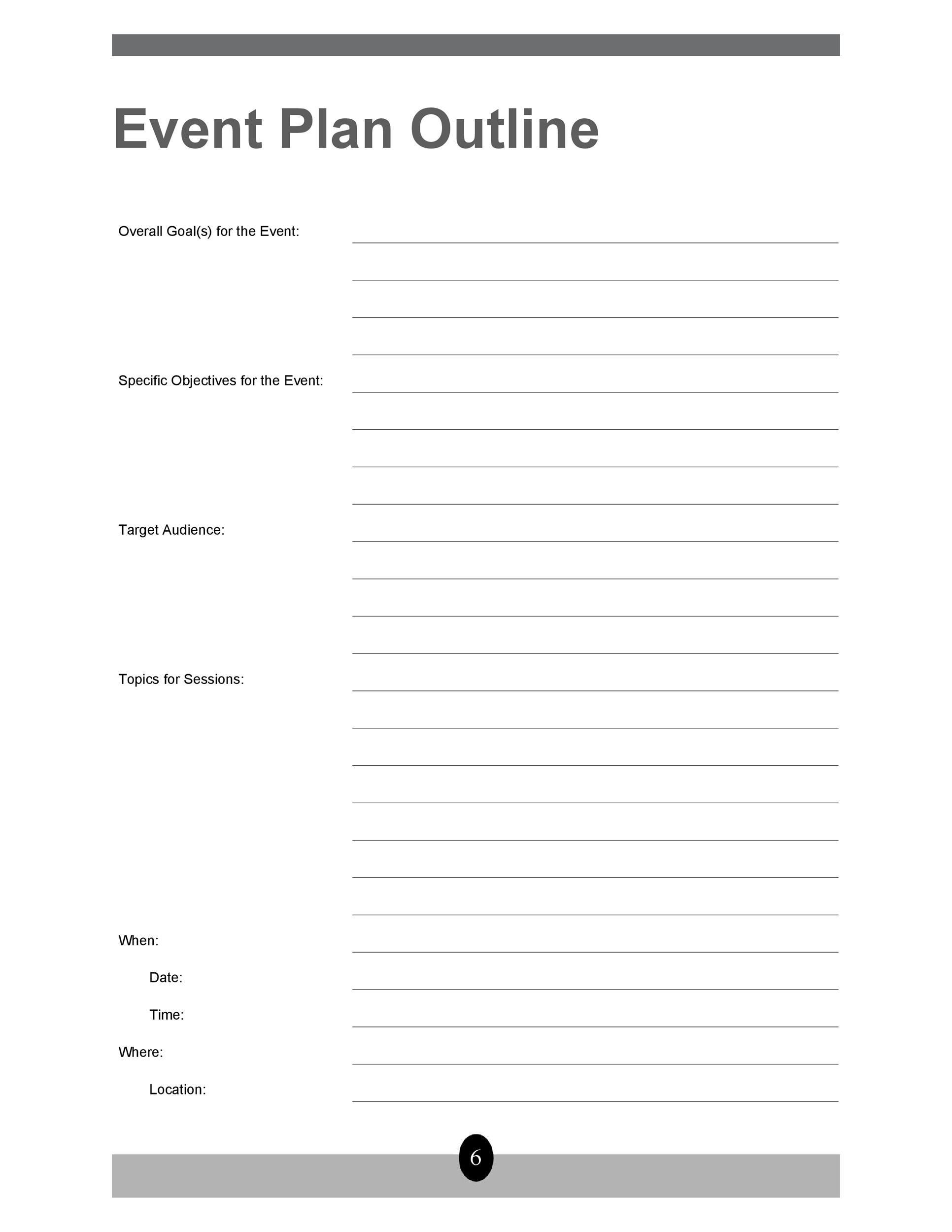 50 professional event planning checklist templates  u1405 template lab